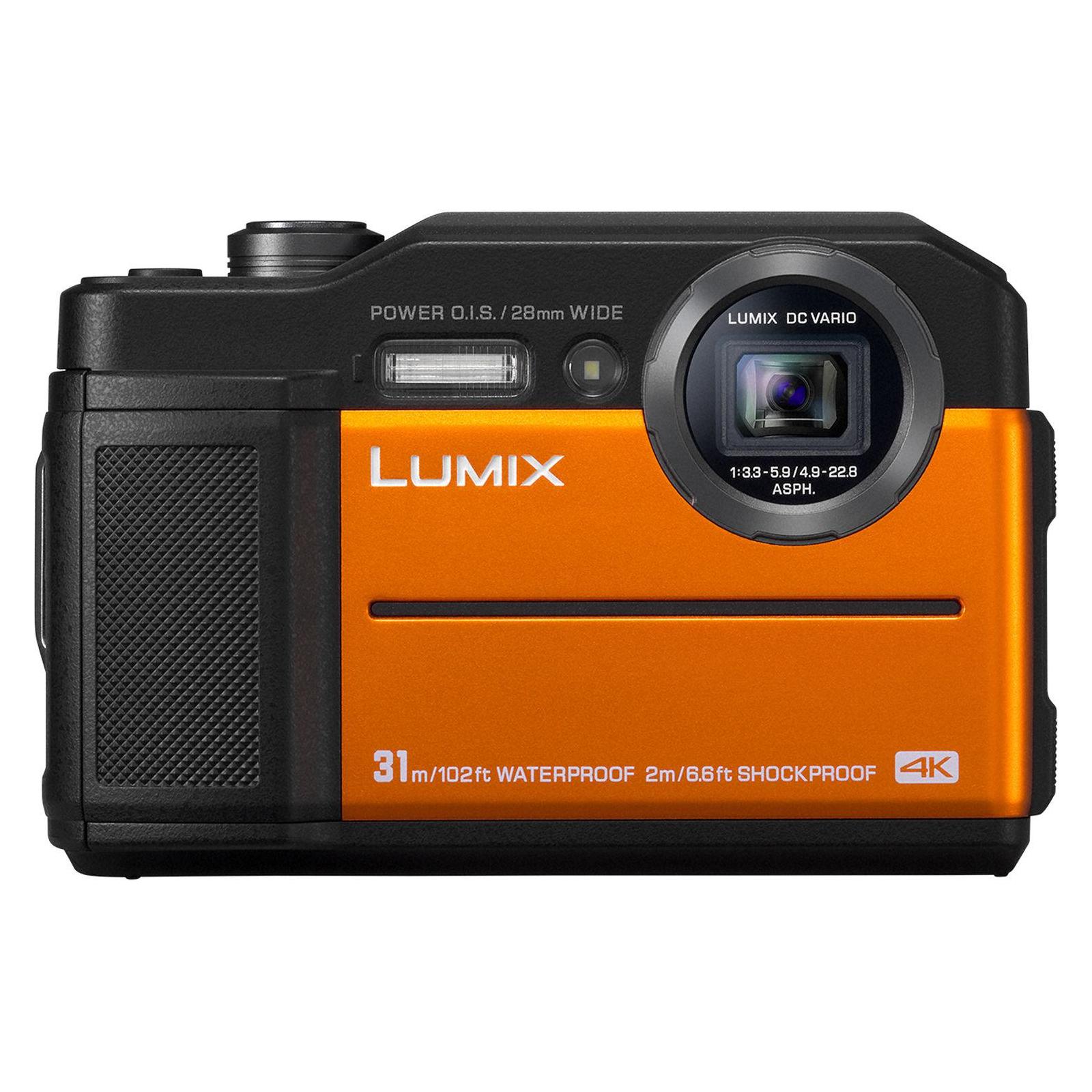 Цифровой фотоаппарат PANASONIC LUMIX DC-FT7EE-D Orange (DC-FT7EE-D) изображение 2
