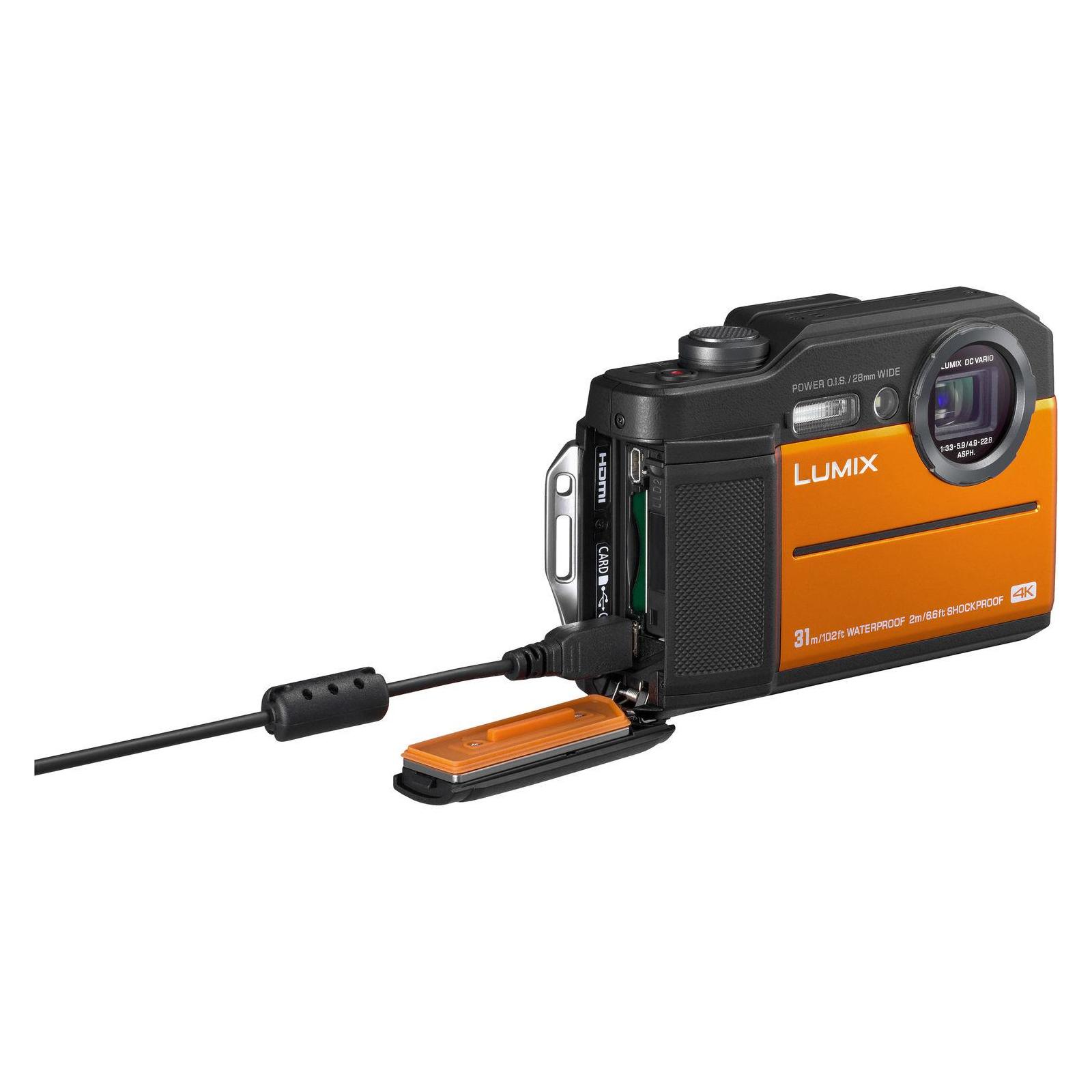 Цифровой фотоаппарат PANASONIC LUMIX DC-FT7EE-D Orange (DC-FT7EE-D) изображение 7