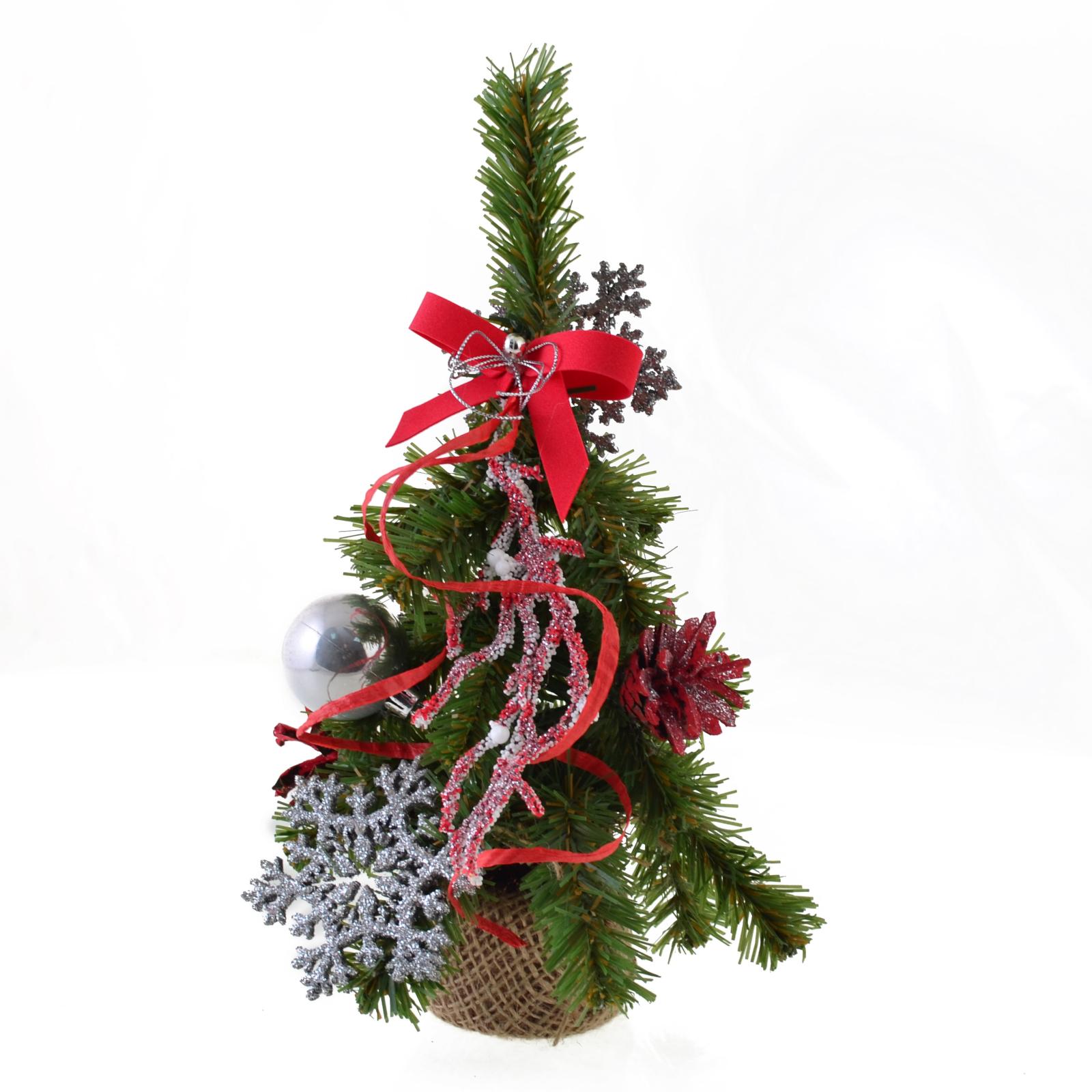 Искусственная елка YES! Fun с украшениями Снежинка 0,25 м (904301) изображение 2