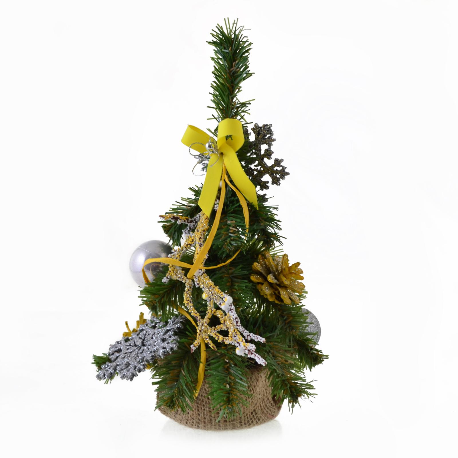 Искусственная елка YES! Fun с украшениями Снежинка 0,25 м (904301) изображение 3