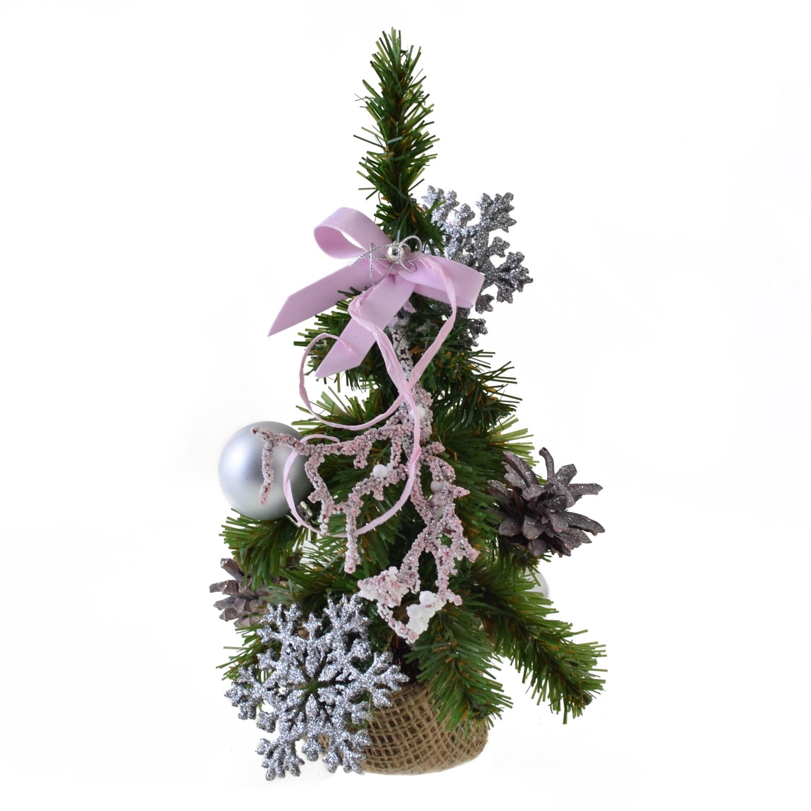 Искусственная елка YES! Fun с украшениями Снежинка 0,25 м (904301)