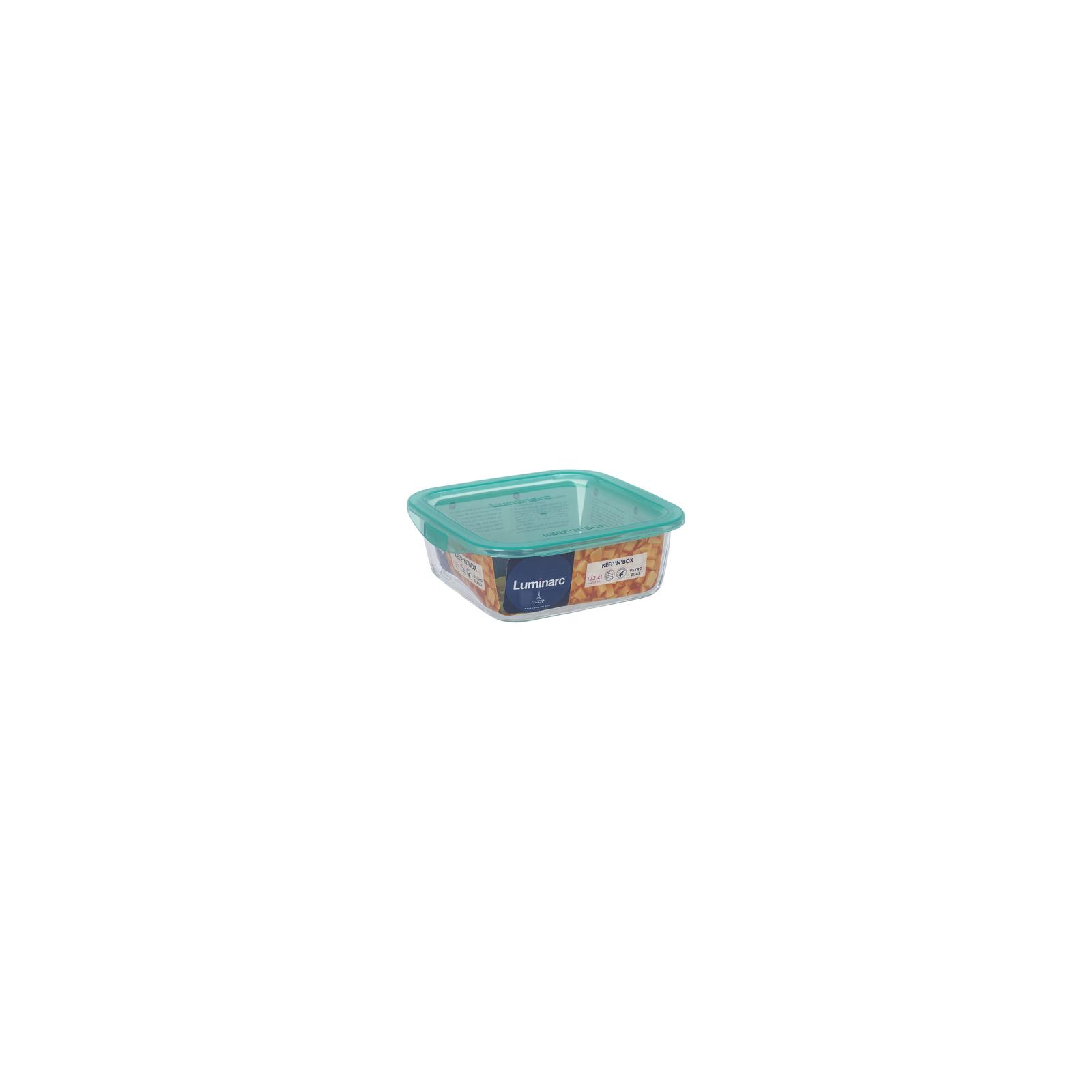 Пищевой контейнер Luminarc Keep'n Box Lagoon квадр. 1220 мл (P5520) изображение 3