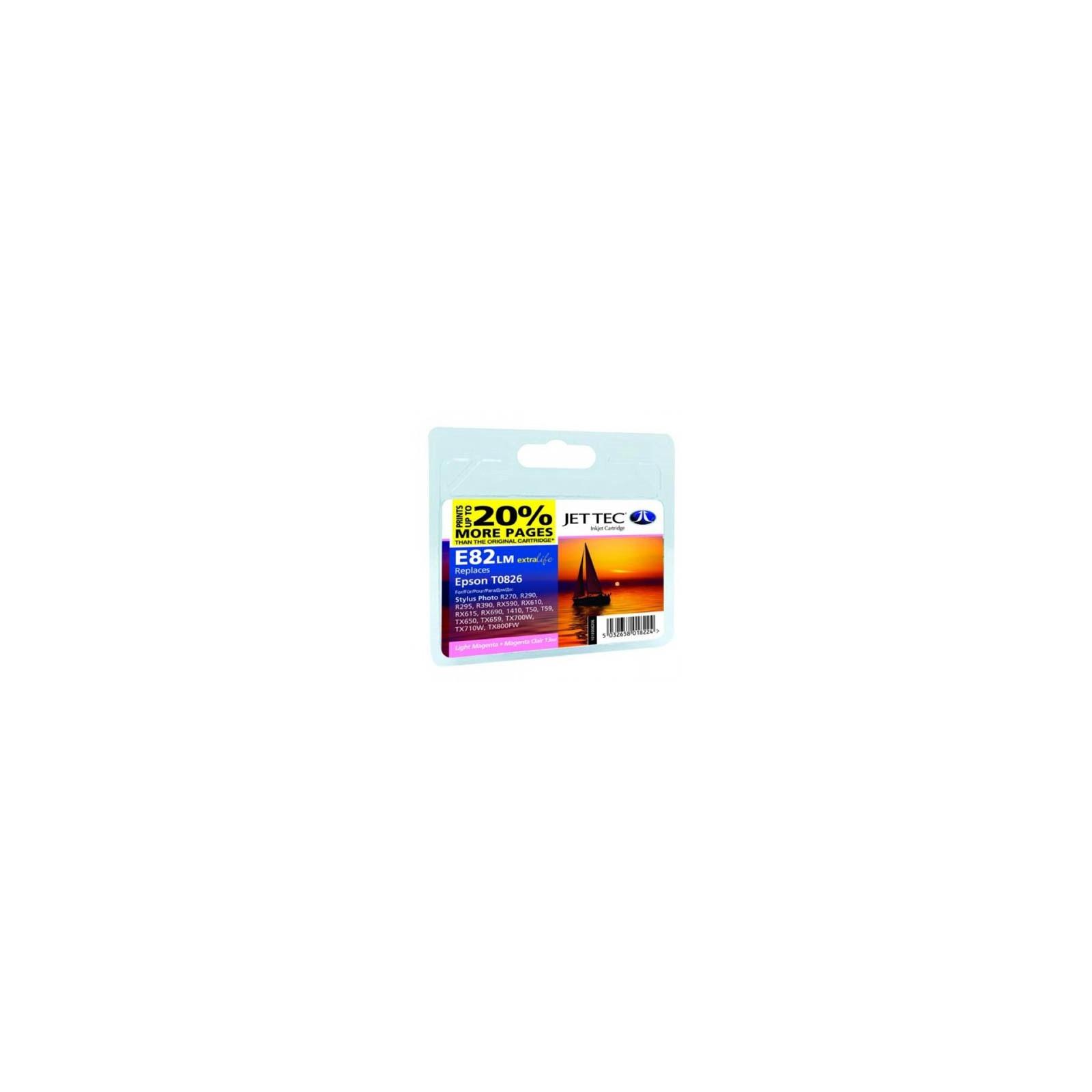 Картридж Jet Tec EPSON StPh R-270/390/RX-590 Light Magenta E82LM (110E008206)