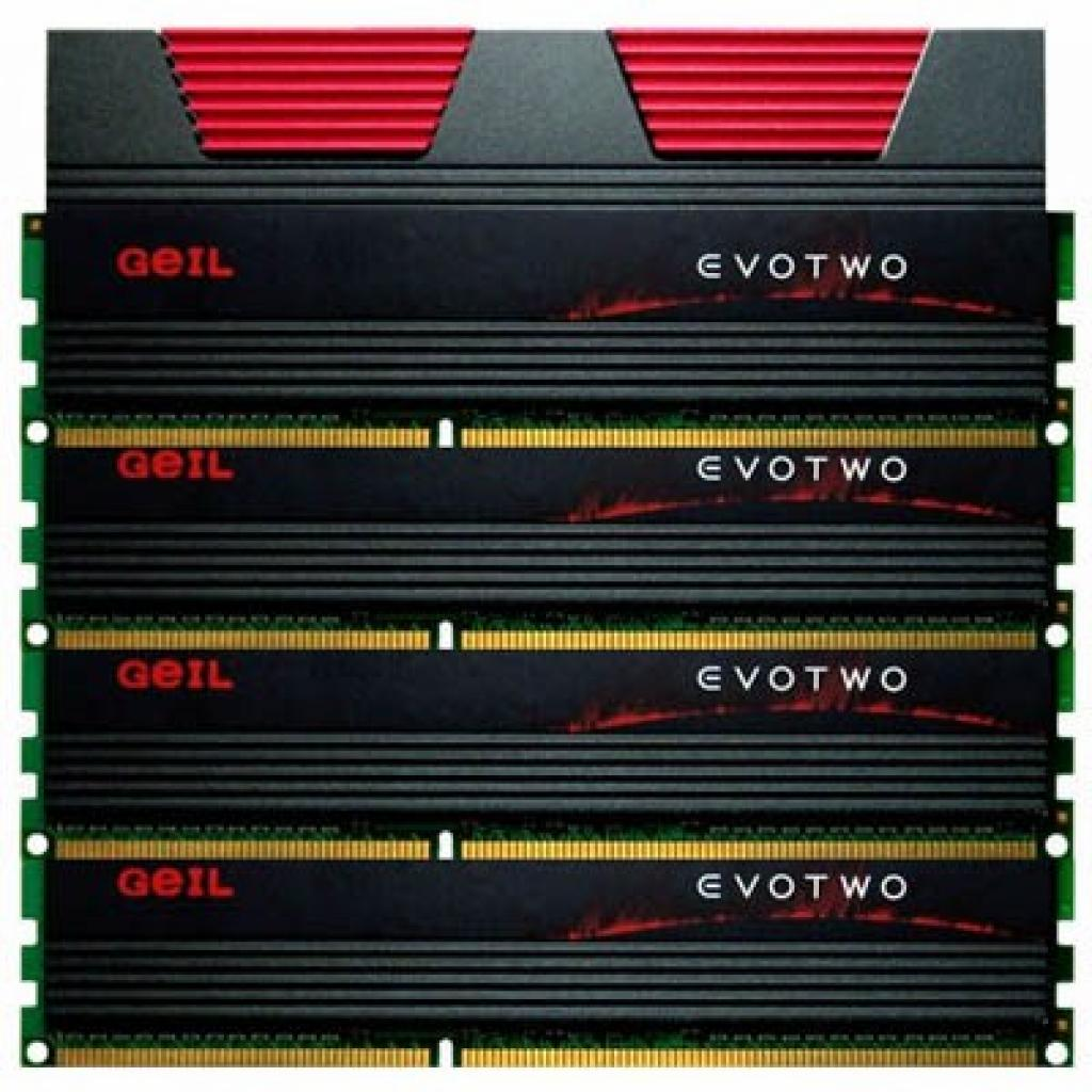 Модуль памяти для компьютера DDR3 16GB (4x4GB) 2133 MHz GEIL (GET316GB2133C11QC)