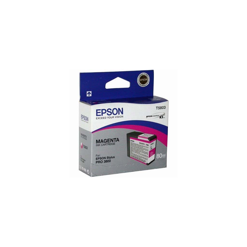 Картридж Epson St Pro 3880 magenta (Vivid) (C13T580A00)