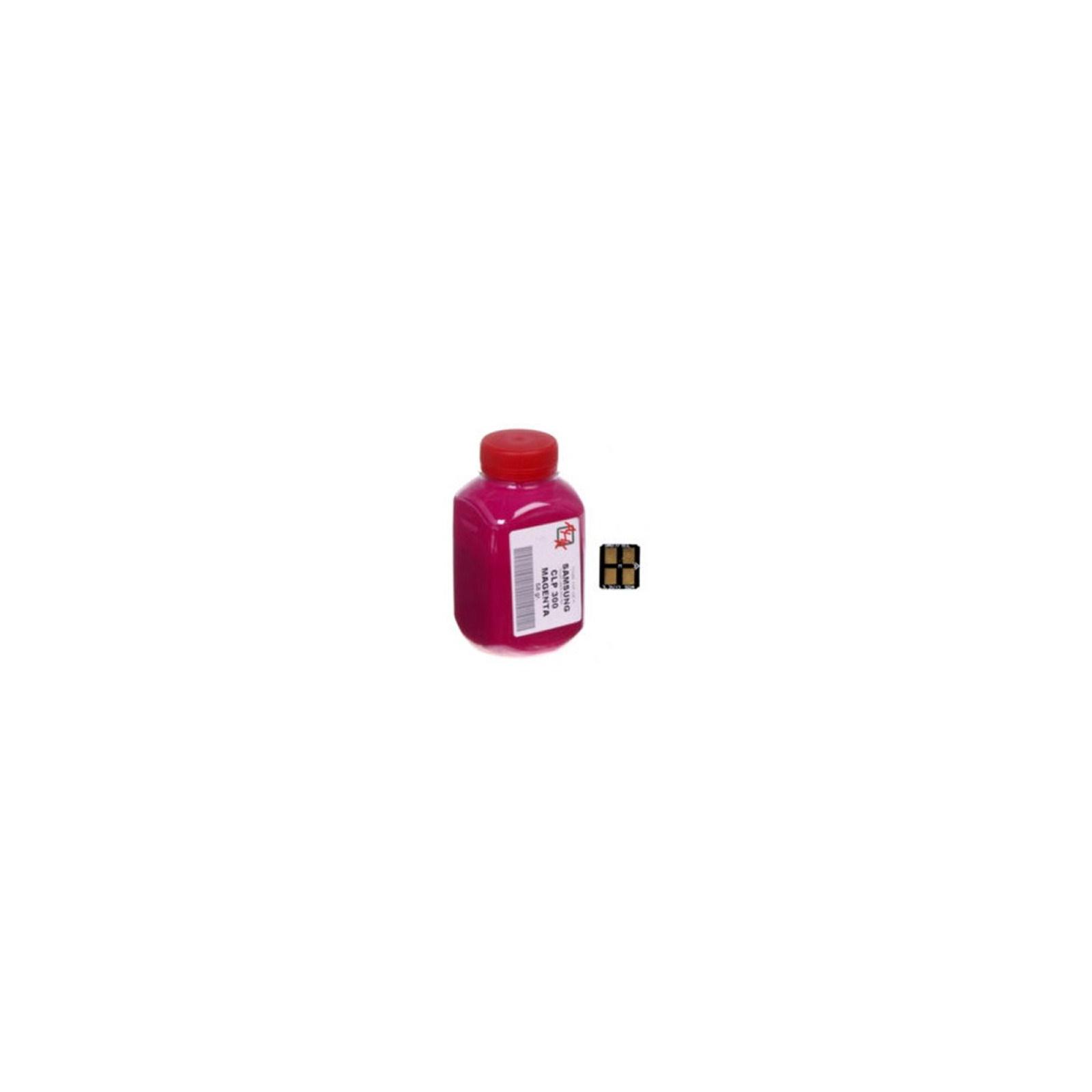 Тонер SAMSUNG CLP-300 Magenta+chip AHK (1500230)