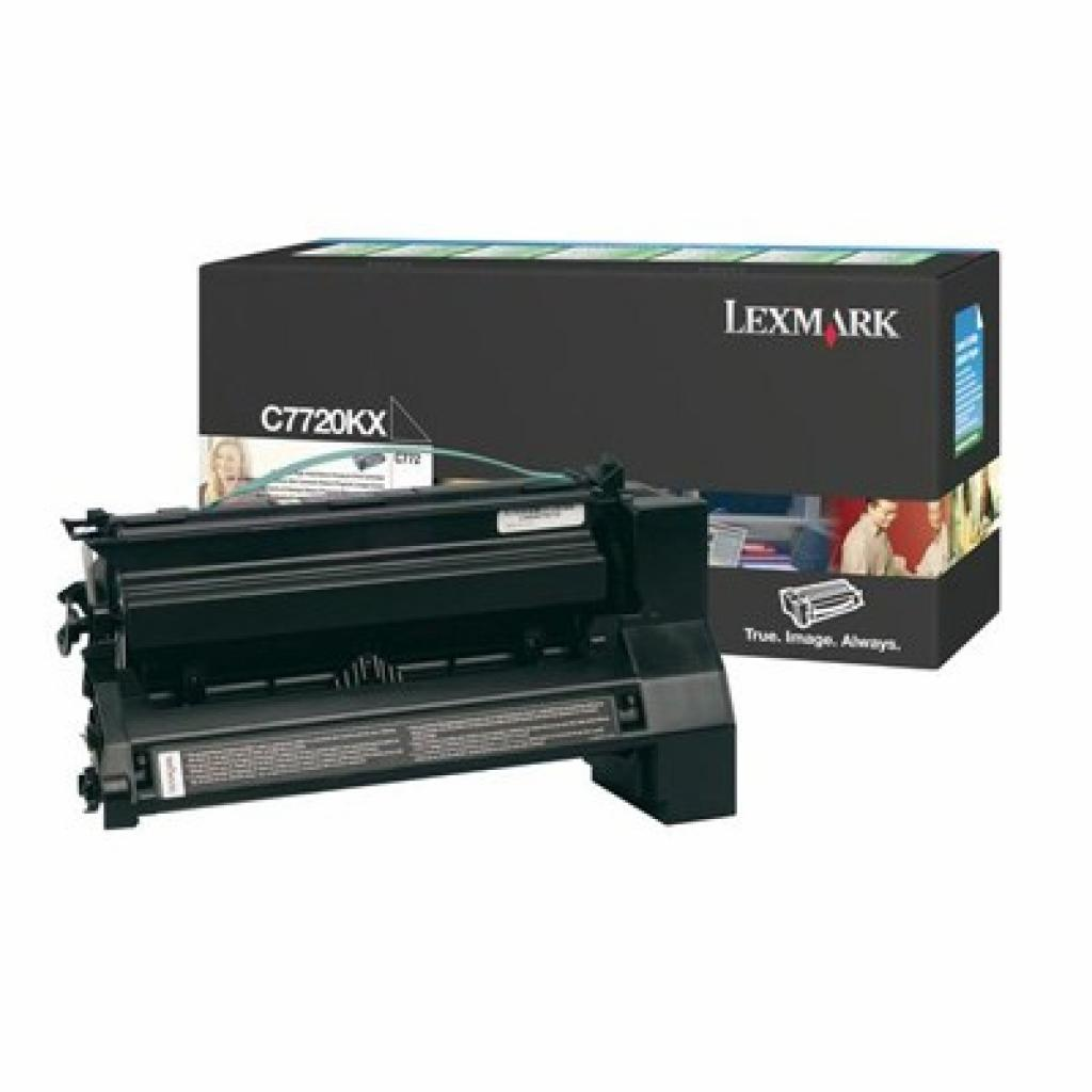 Картридж LEXMARK C77x Black 15k (C7720KX)