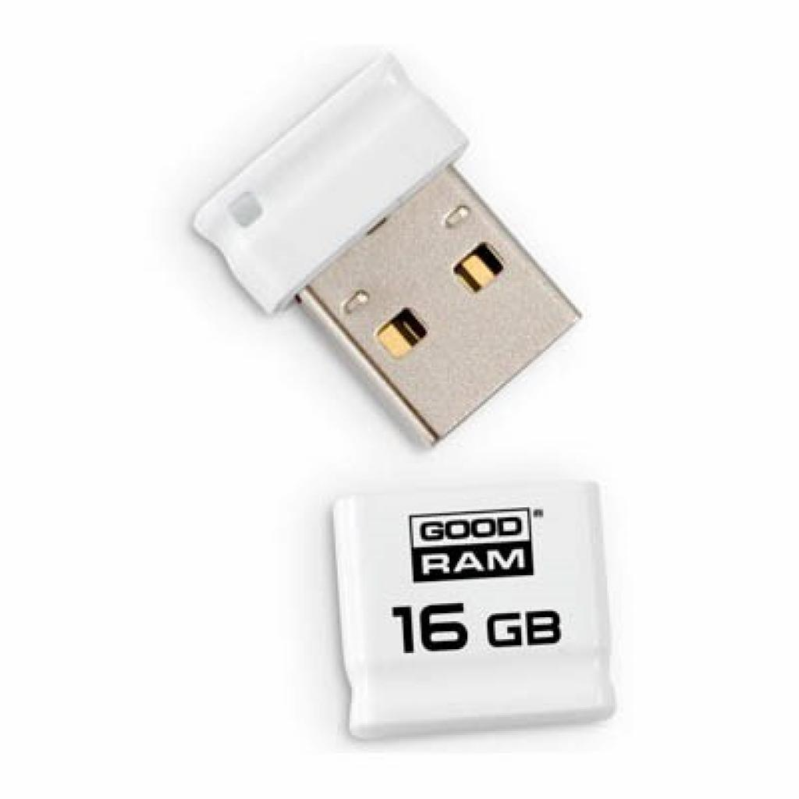USB флеш накопитель GOODRAM 16Gb Piccolo white (PD16GH2GRPIWR10)