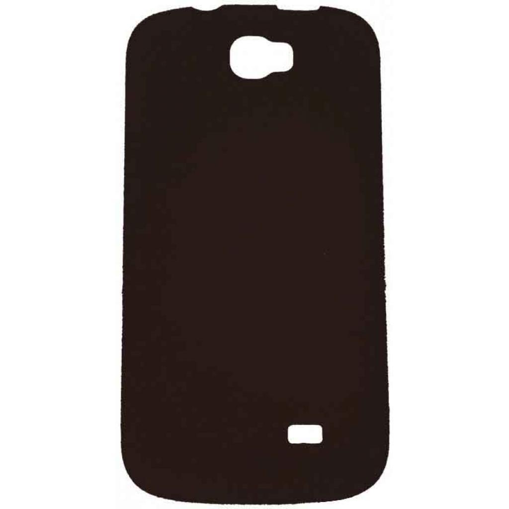 Чехол для моб. телефона GIGABYTE GS202 SOFT COVER BROWN (2QE01-00000-400S)