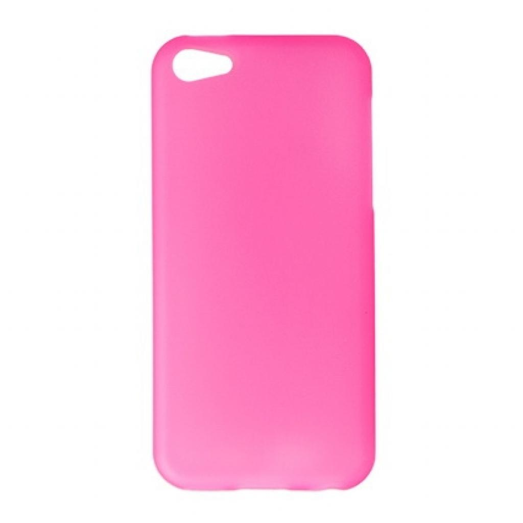 Чехол для моб. телефона Drobak для Apple Iphone 5c /Elastic PU/Pink (210241)