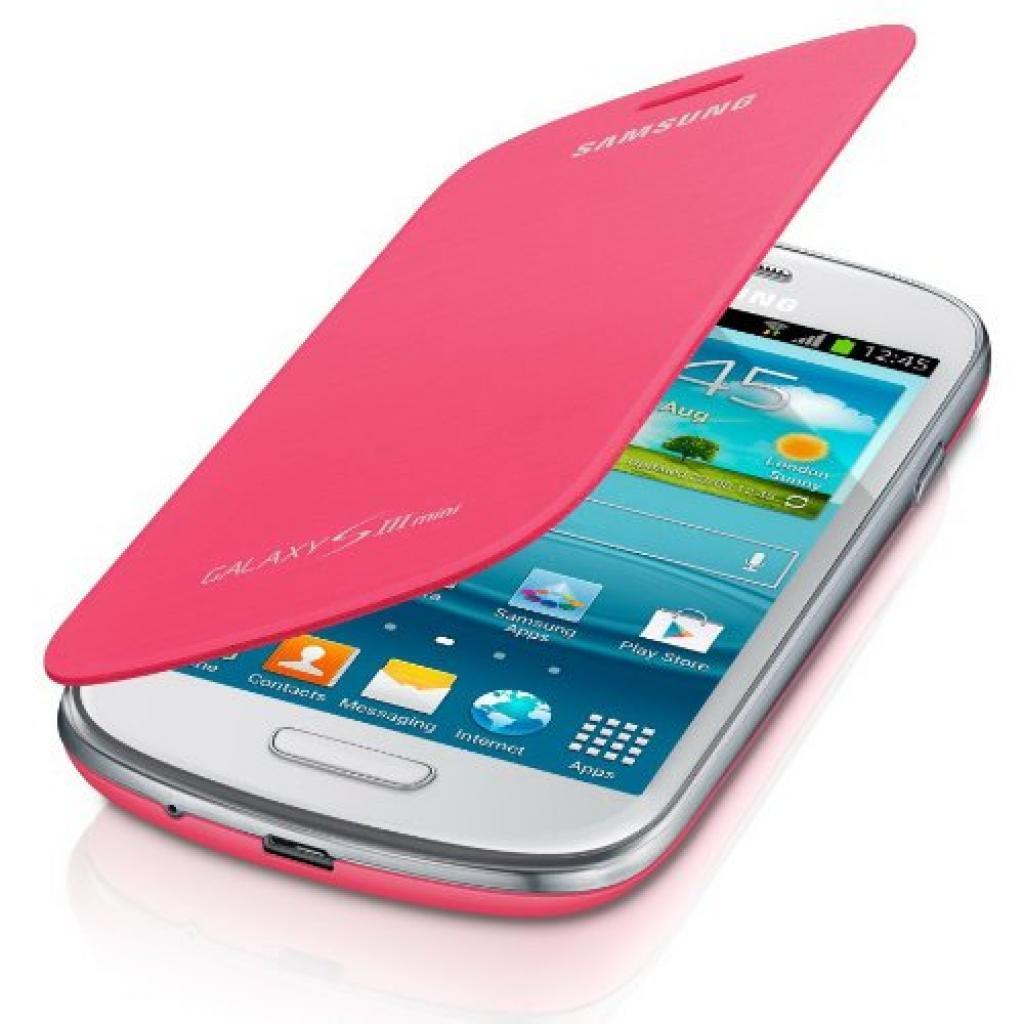 Чехол для моб. телефона Samsung i8190 Galaxy S3 Mini/Pink/Flip Cover (EFC-1M7FPEGSTD) изображение 2