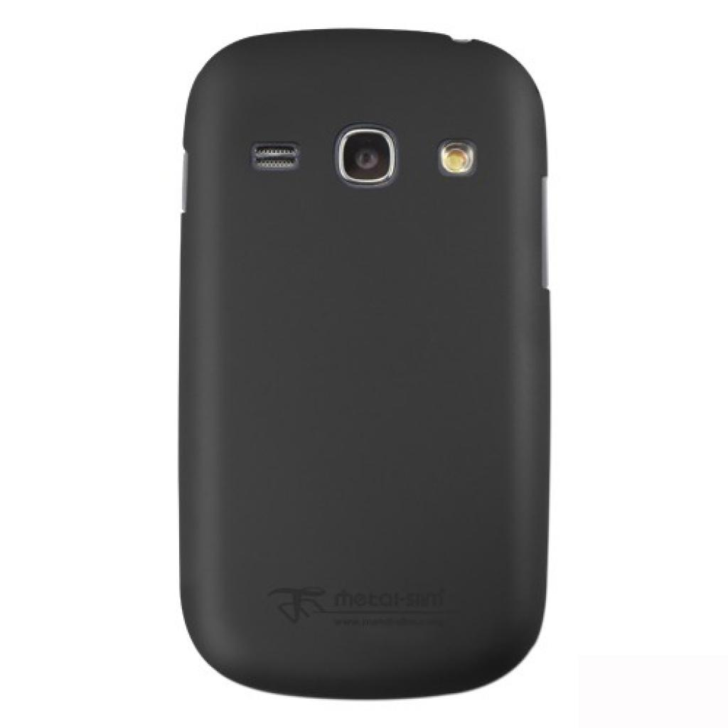Чехол для моб. телефона Metal-Slim Samsung S6810 Fame /Rubber Black (C-K0022MR0001)