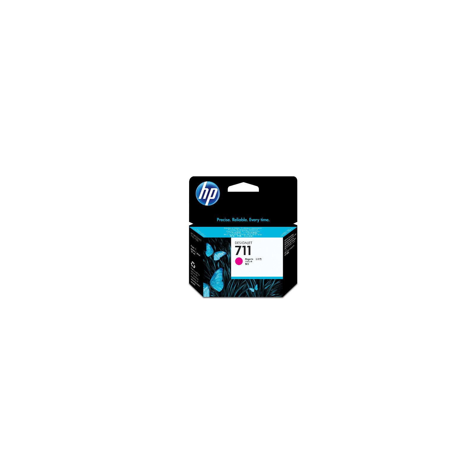 Картридж HP DJ No.711 3-Pack DesignJet 120/520 Magenta (CZ135A)