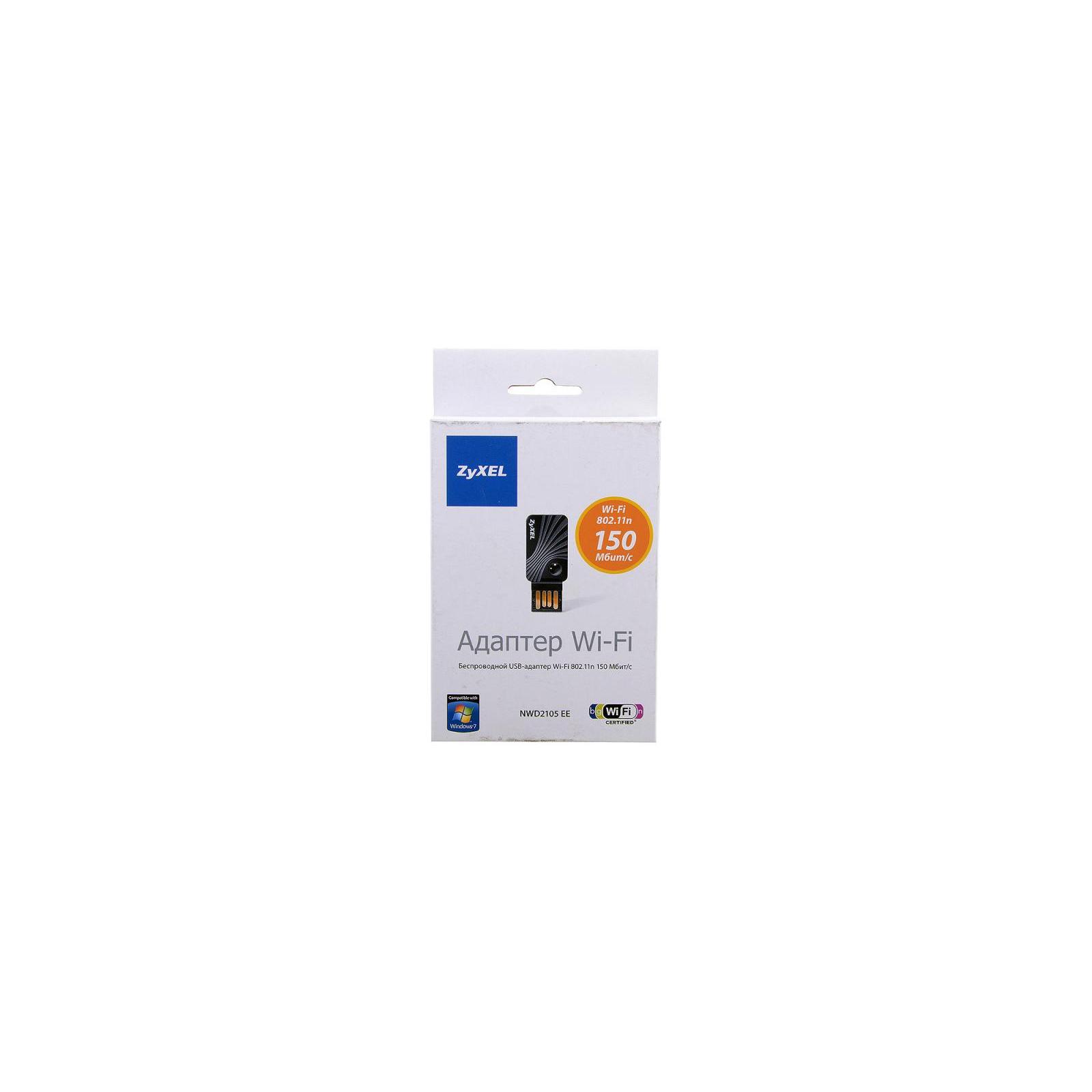 Сетевая карта Wi-Fi ZyXel NWD2105 EE изображение 7