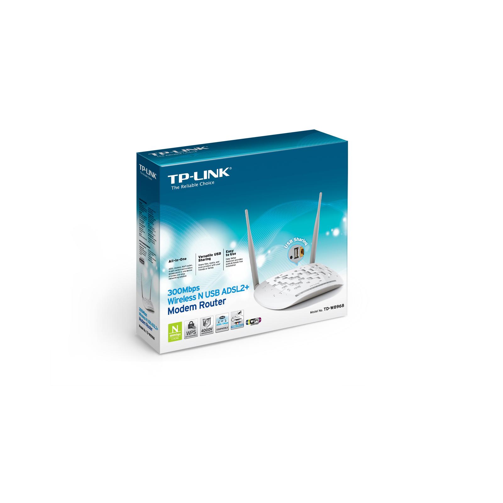 Маршрутизатор TP-Link TD-W8968 изображение 6