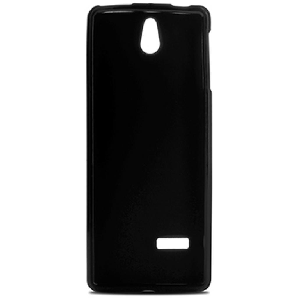 Чехол для моб. телефона для Nokia 515 (Black) Elastic PU Drobak (215111) изображение 2
