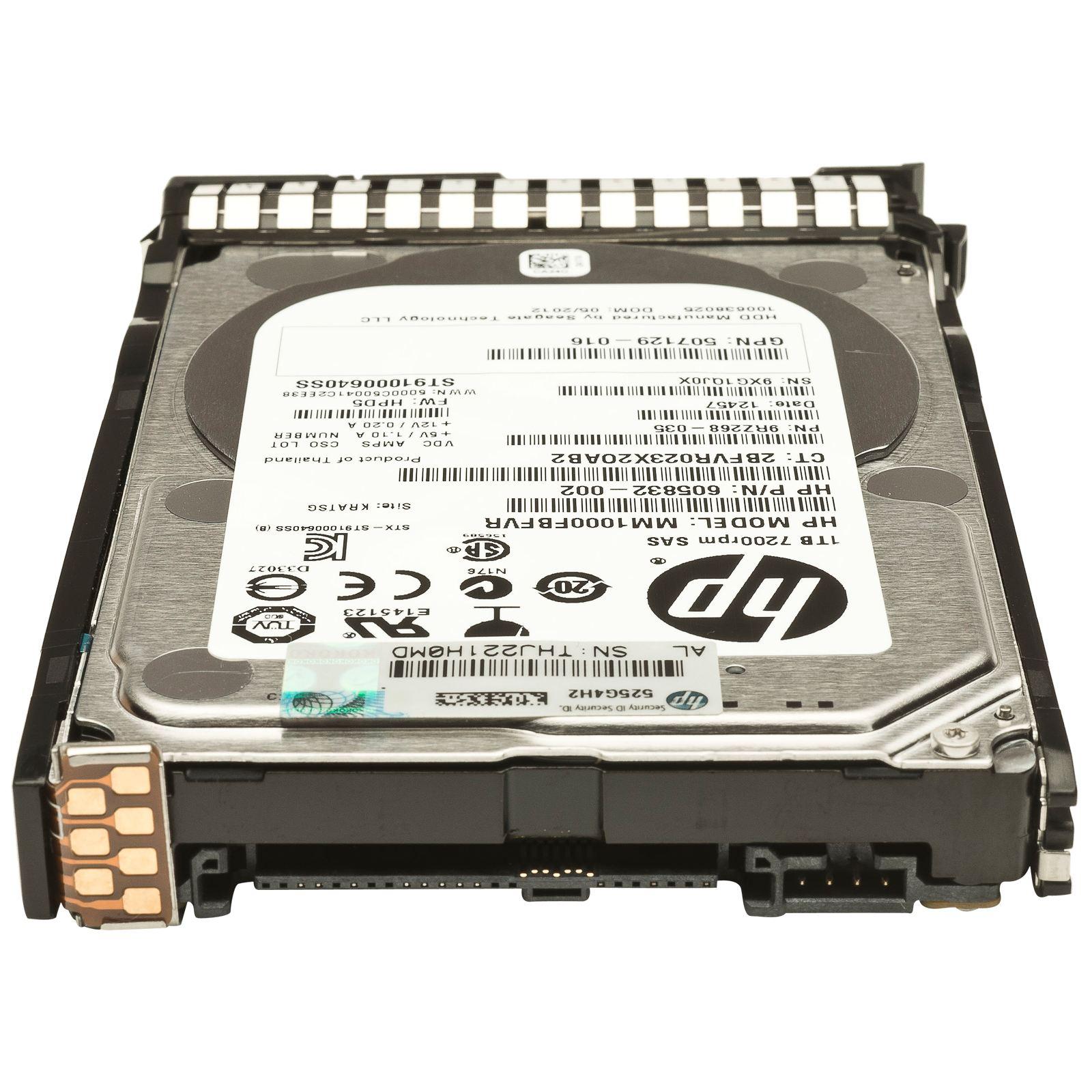Жесткий диск для сервера HP 2TB (658079-B21) изображение 2