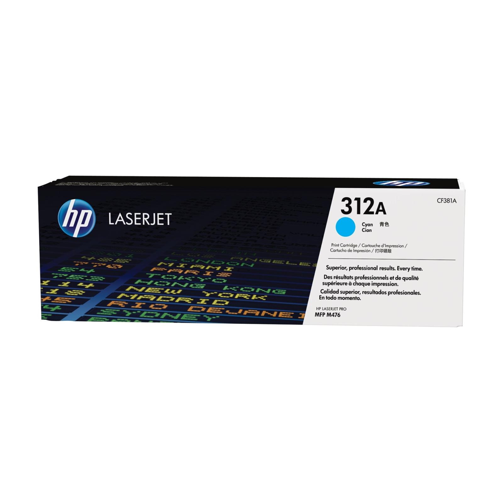 Картридж HP CLJ  312A Cyan LJ Pro M476dn/M476dw/M476nw (CF381A)