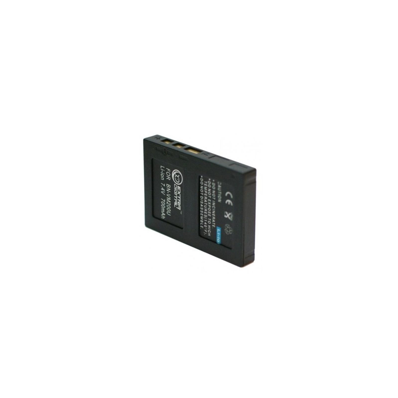 Аккумулятор к фото/видео EXTRADIGITAL JVC BN-VM200U (DV00DV1327) изображение 2