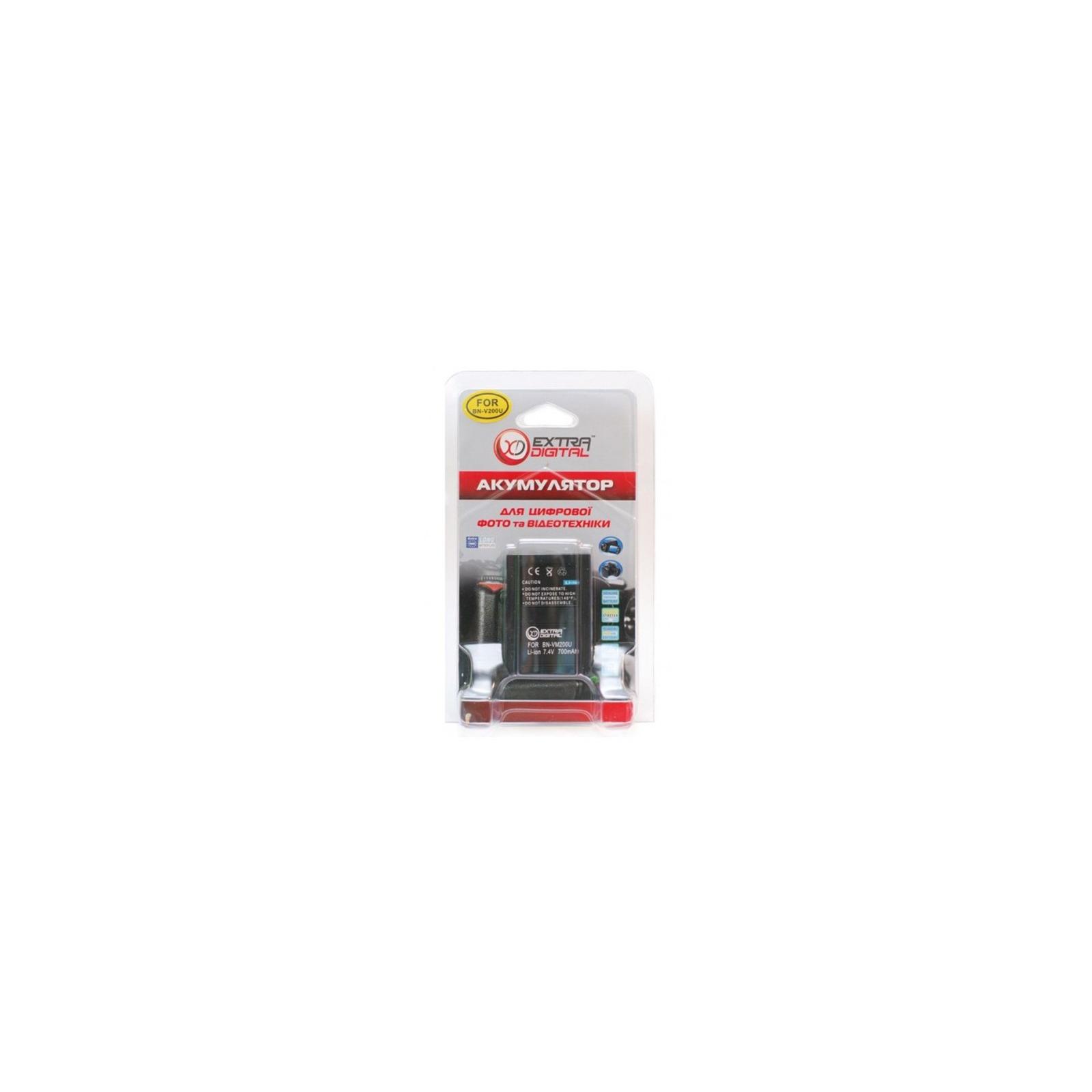 Аккумулятор к фото/видео EXTRADIGITAL JVC BN-VM200U (DV00DV1327) изображение 3