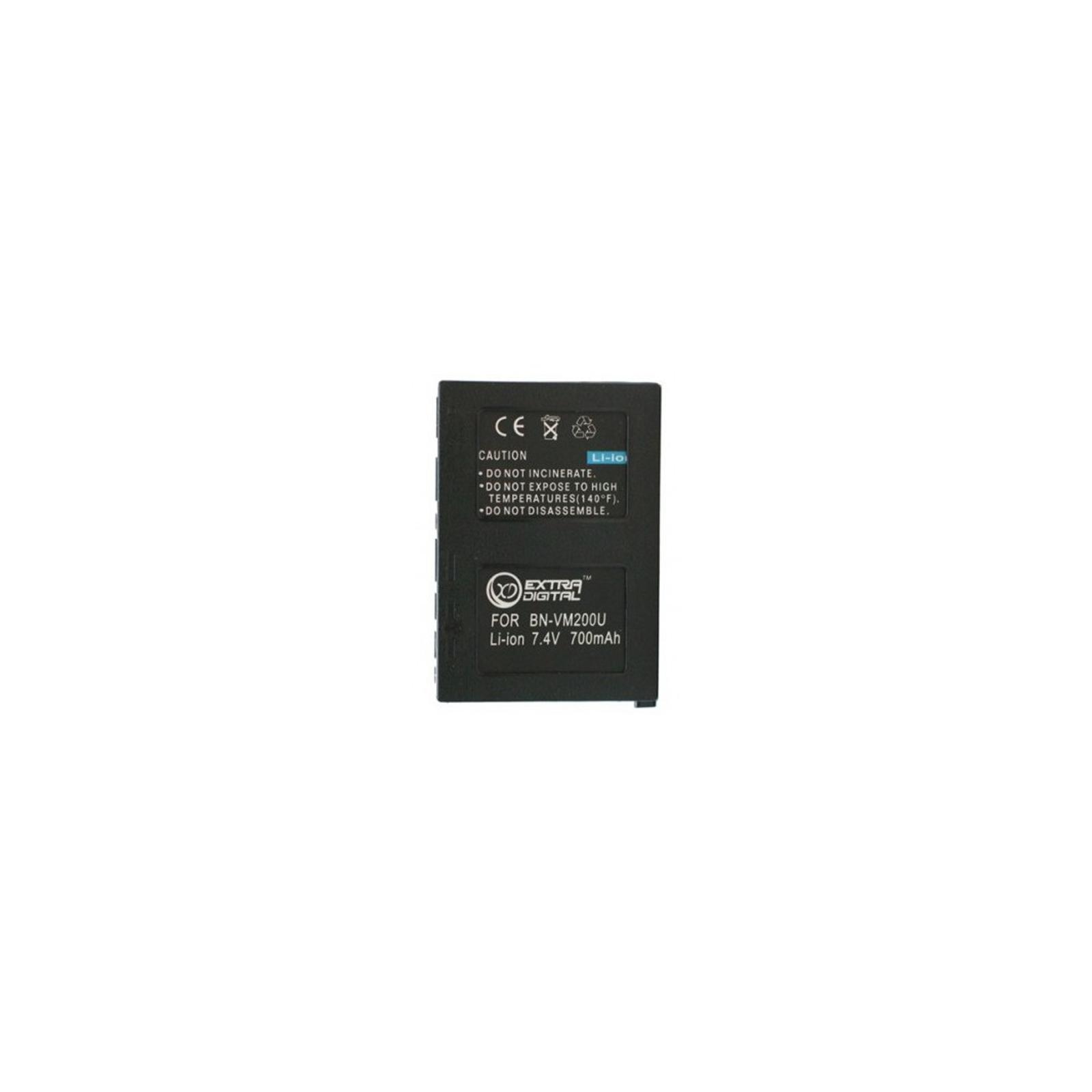 Аккумулятор к фото/видео EXTRADIGITAL JVC BN-VM200U (DV00DV1327)