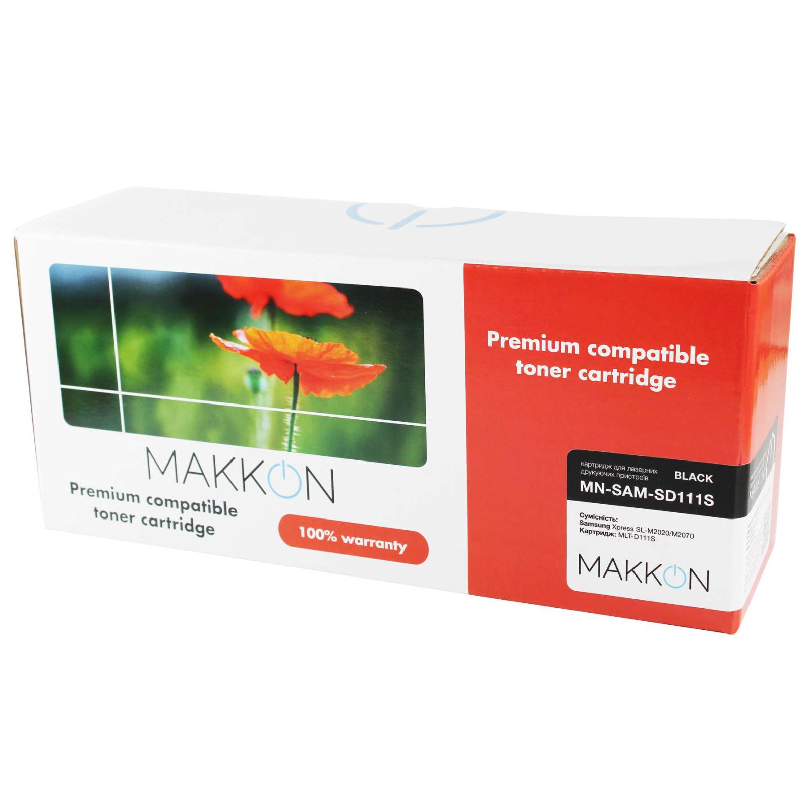 Картридж Makkon Samsung MLT-D111S 1k Black (MN-SAM-SD111S)