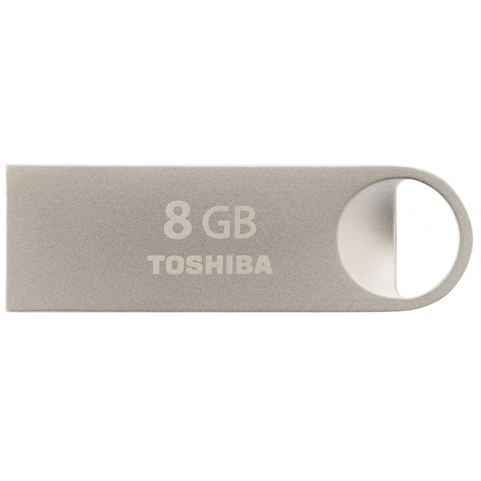 USB флеш накопитель TOSHIBA 8GB Owari Metal USB 2.0 (THN-U401S0080E4)
