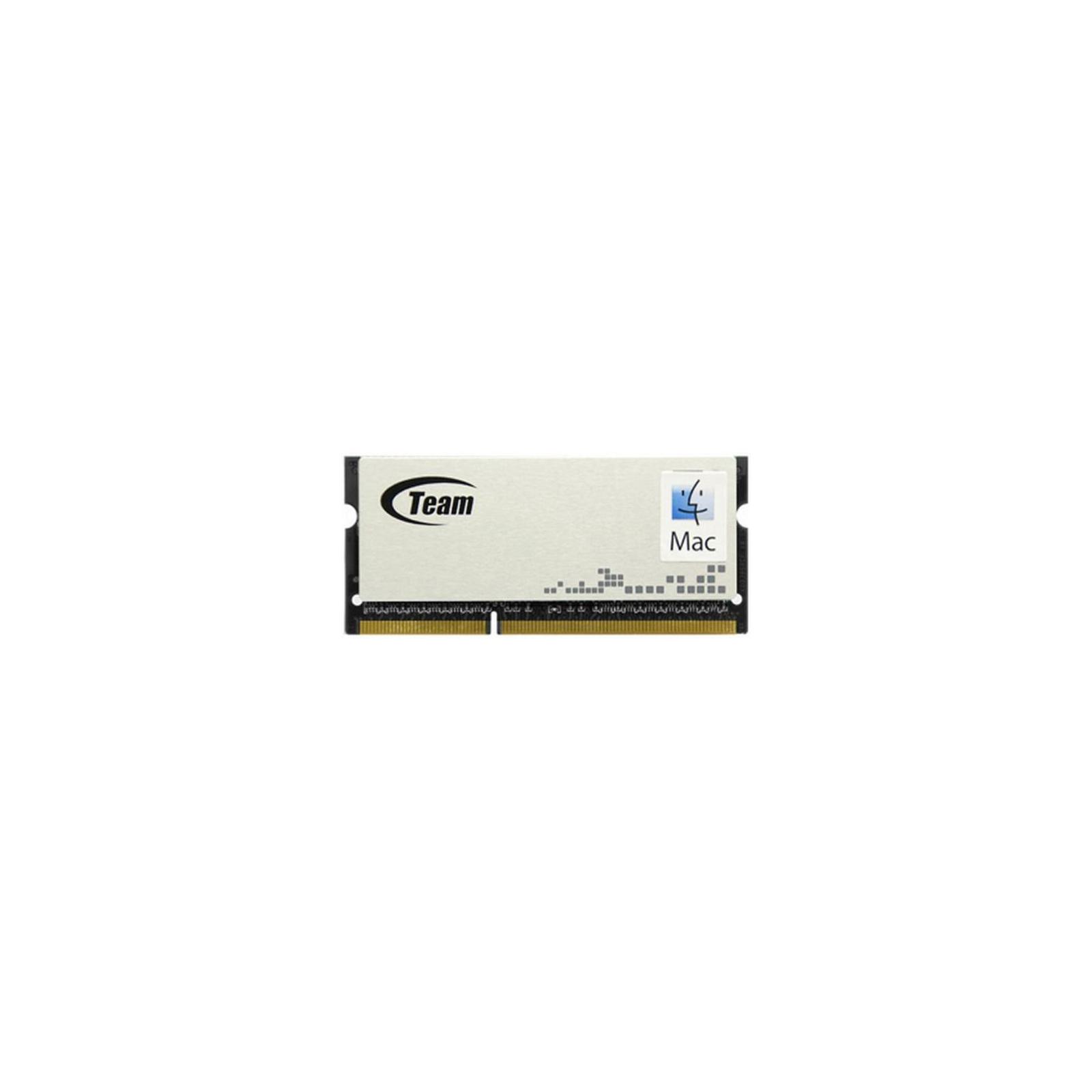 Модуль памяти для ноутбука SoDIMM DDR3 4GB 1600 MHz Team (TMD3L4G1600HC11-S01)