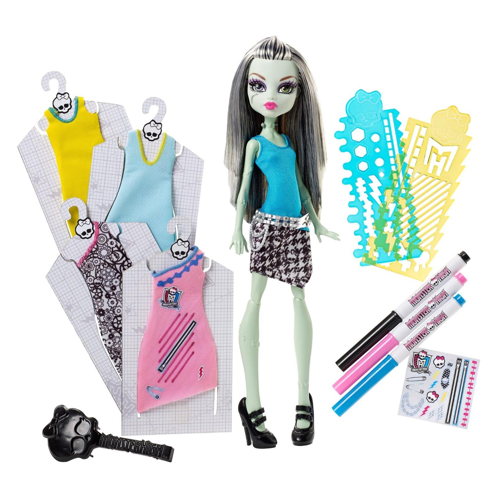 Игровой набор Monster High Модный Бутик Френки (DNM27) изображение 2