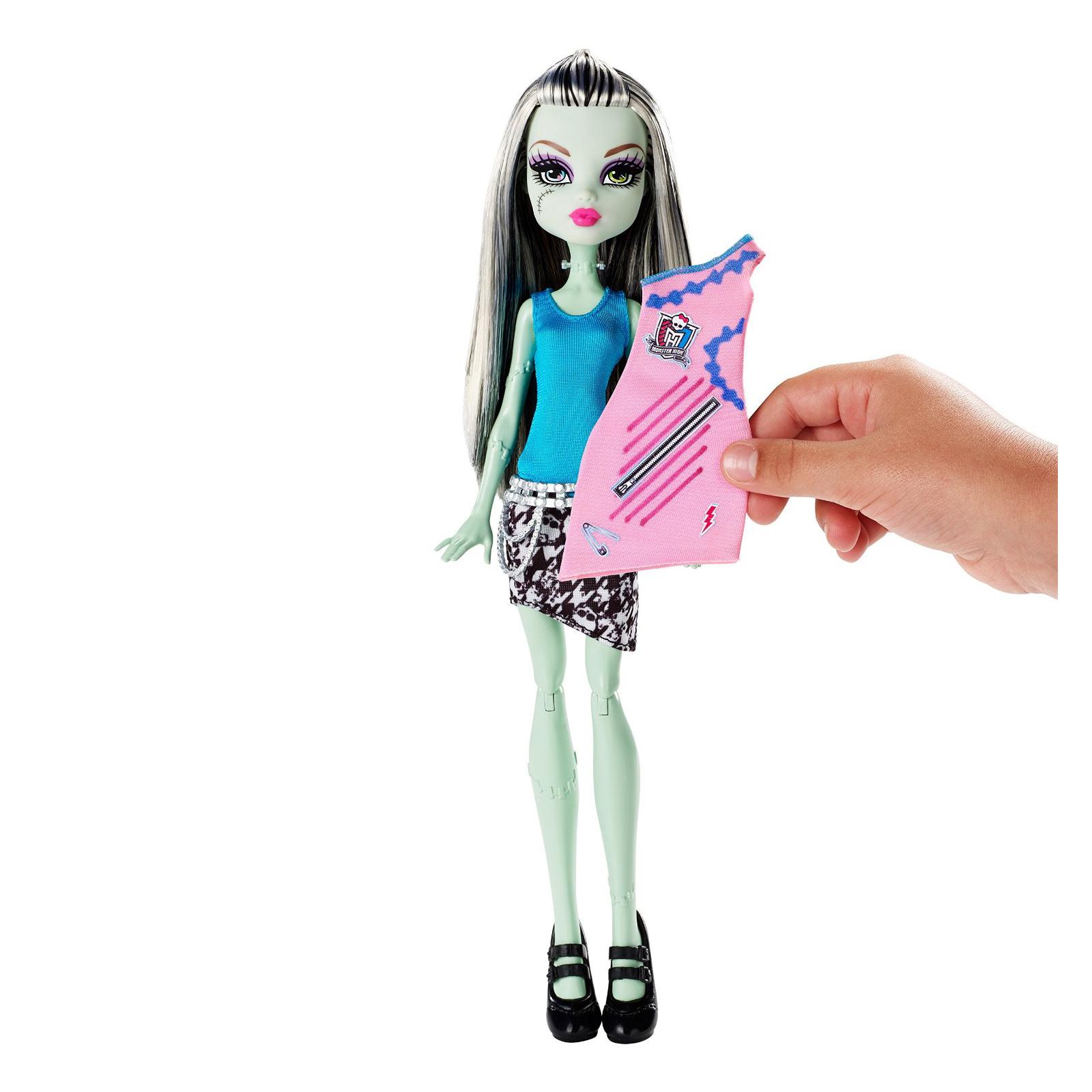 Игровой набор Monster High Модный Бутик Френки (DNM27) изображение 9