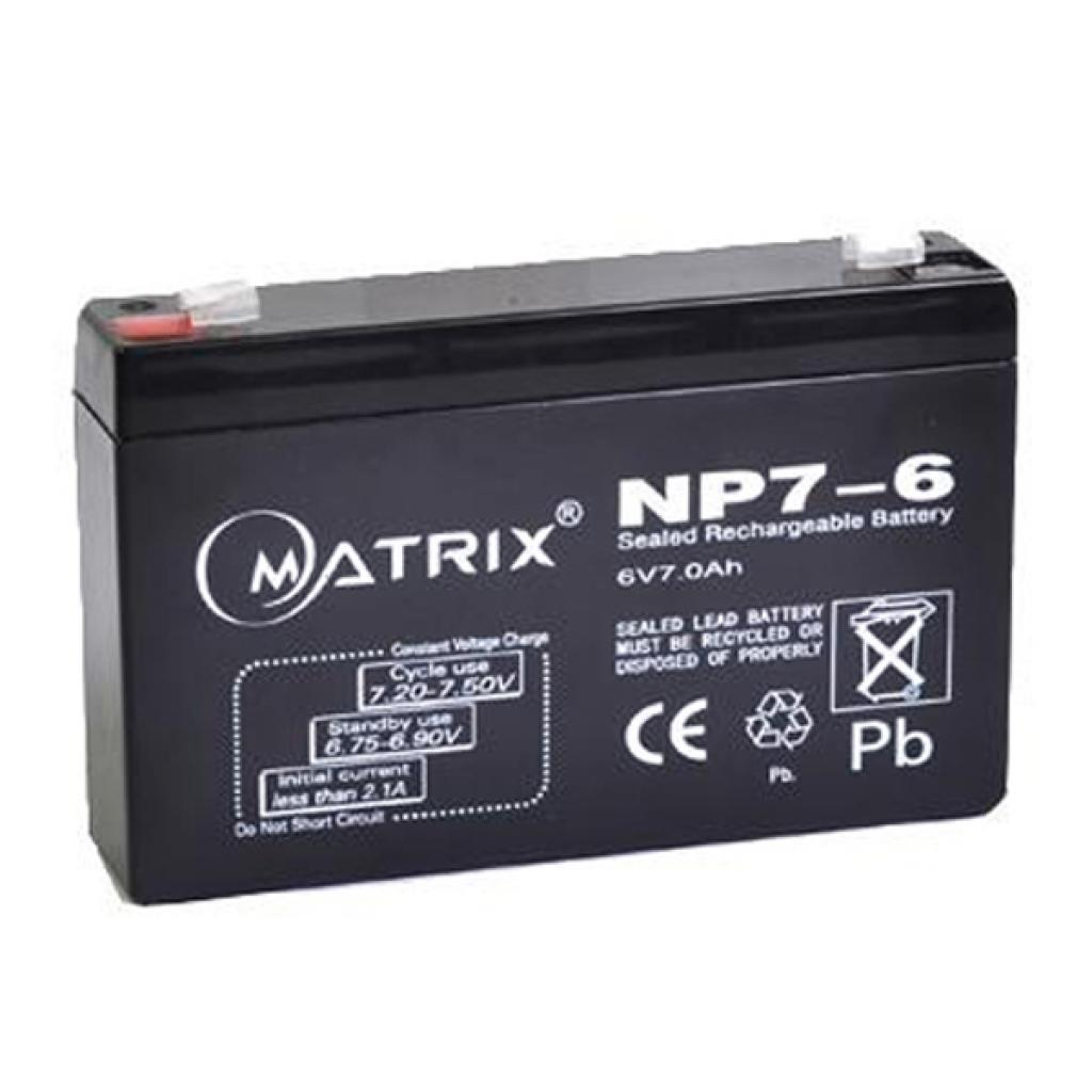 Батарея к ИБП Matrix 6V 7AH (NP7-6)