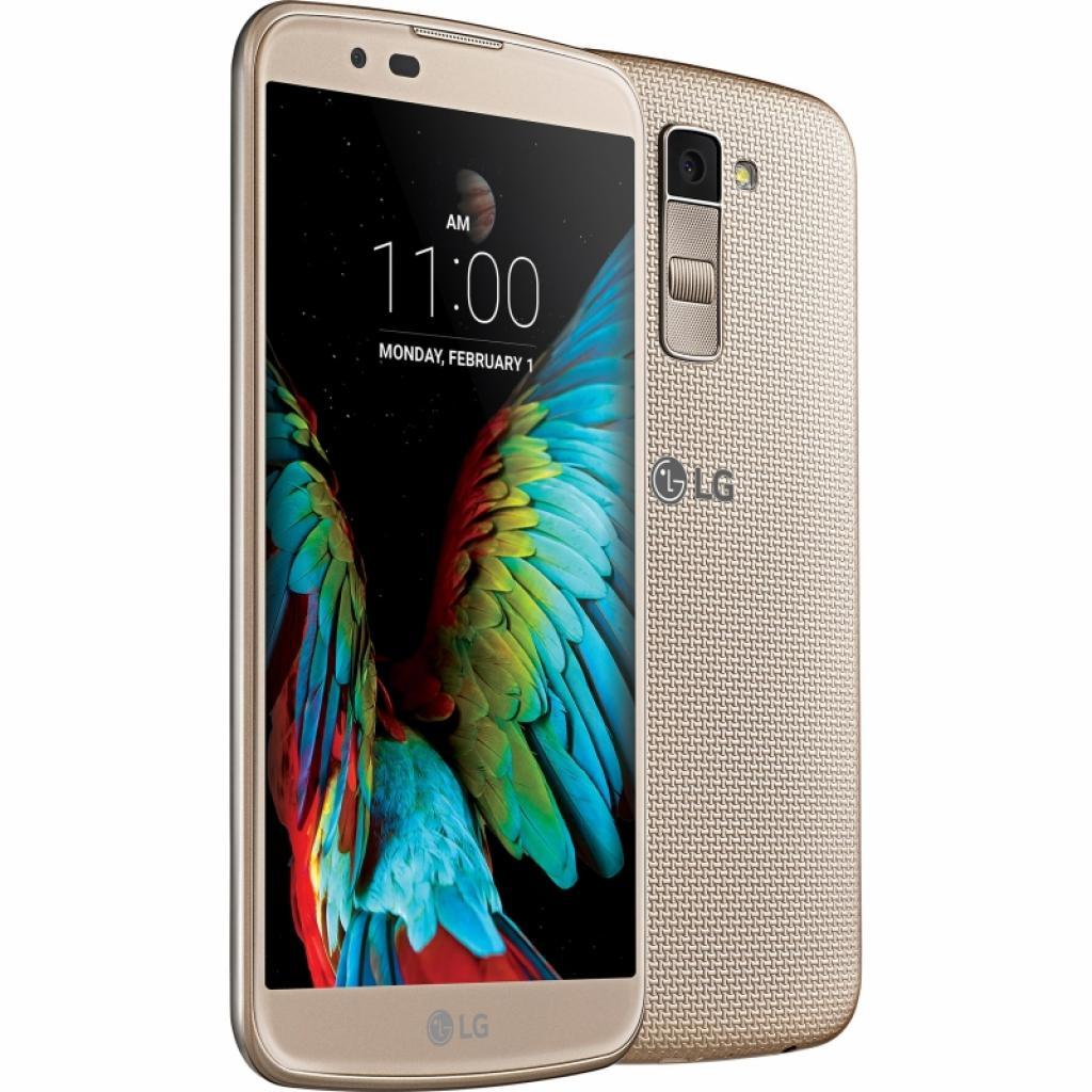 Мобильный телефон LG K430 (K10 LTE) Gold (LGK430DS.ACISKG) изображение 4