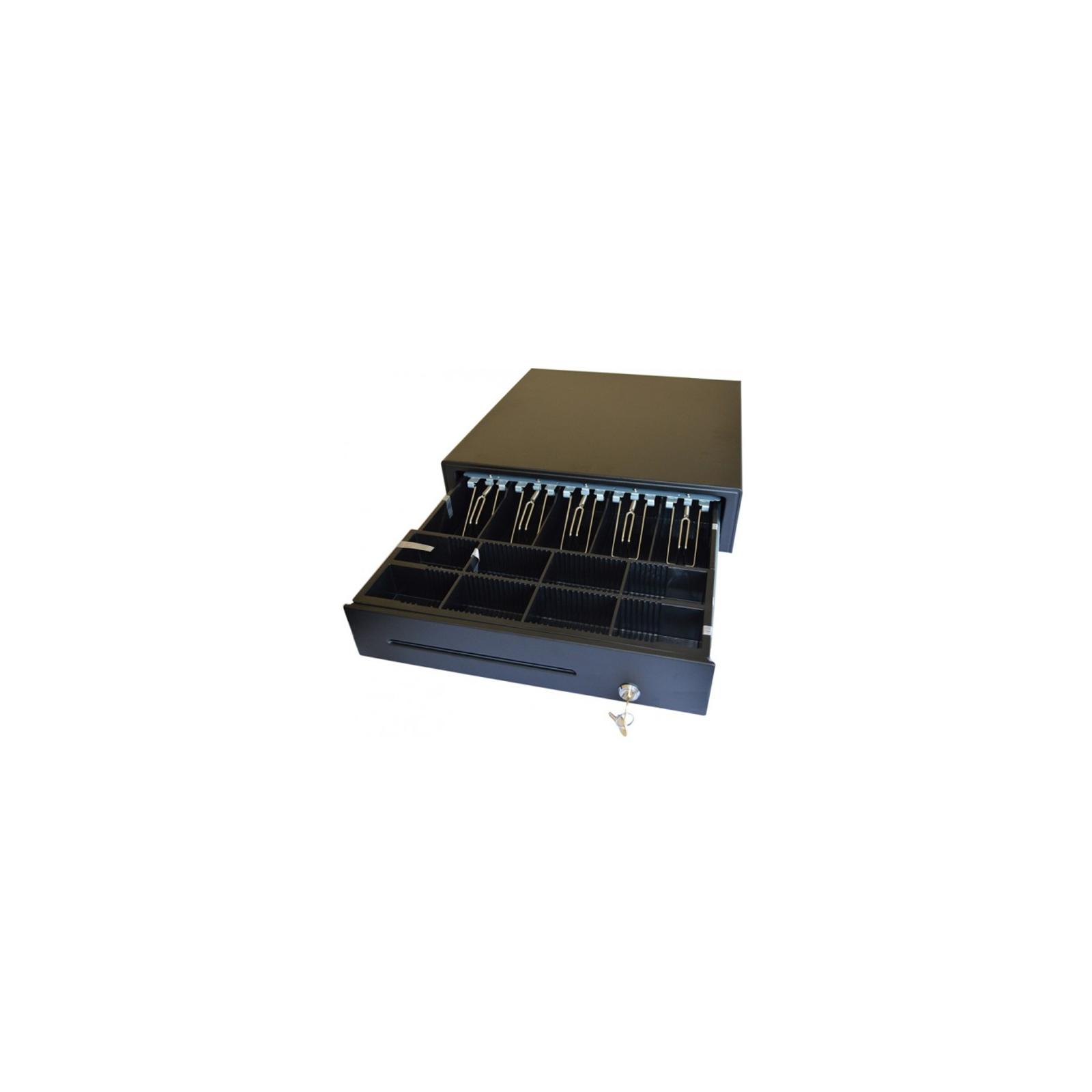 Денежный ящик ИКС-Маркет C4141A Black, 12V (C4141ABLACK12V) изображение 2