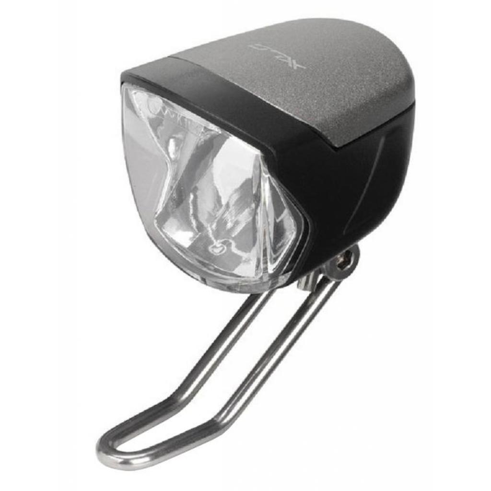 Передняя велофара XLC LED 70Lux E-Bike 6-48V, черный (2500223100)
