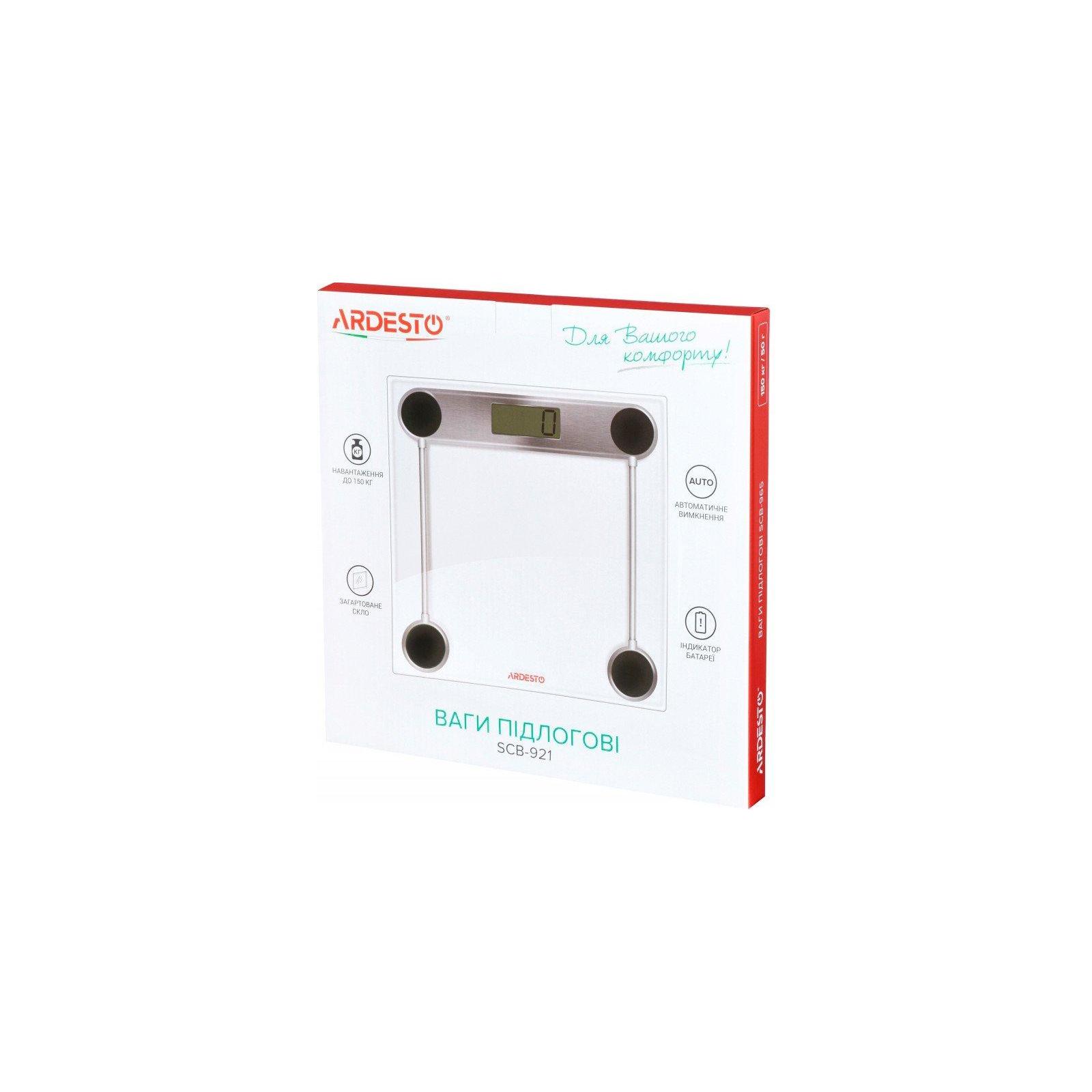 Весы напольные Ardesto SCB-921 изображение 5