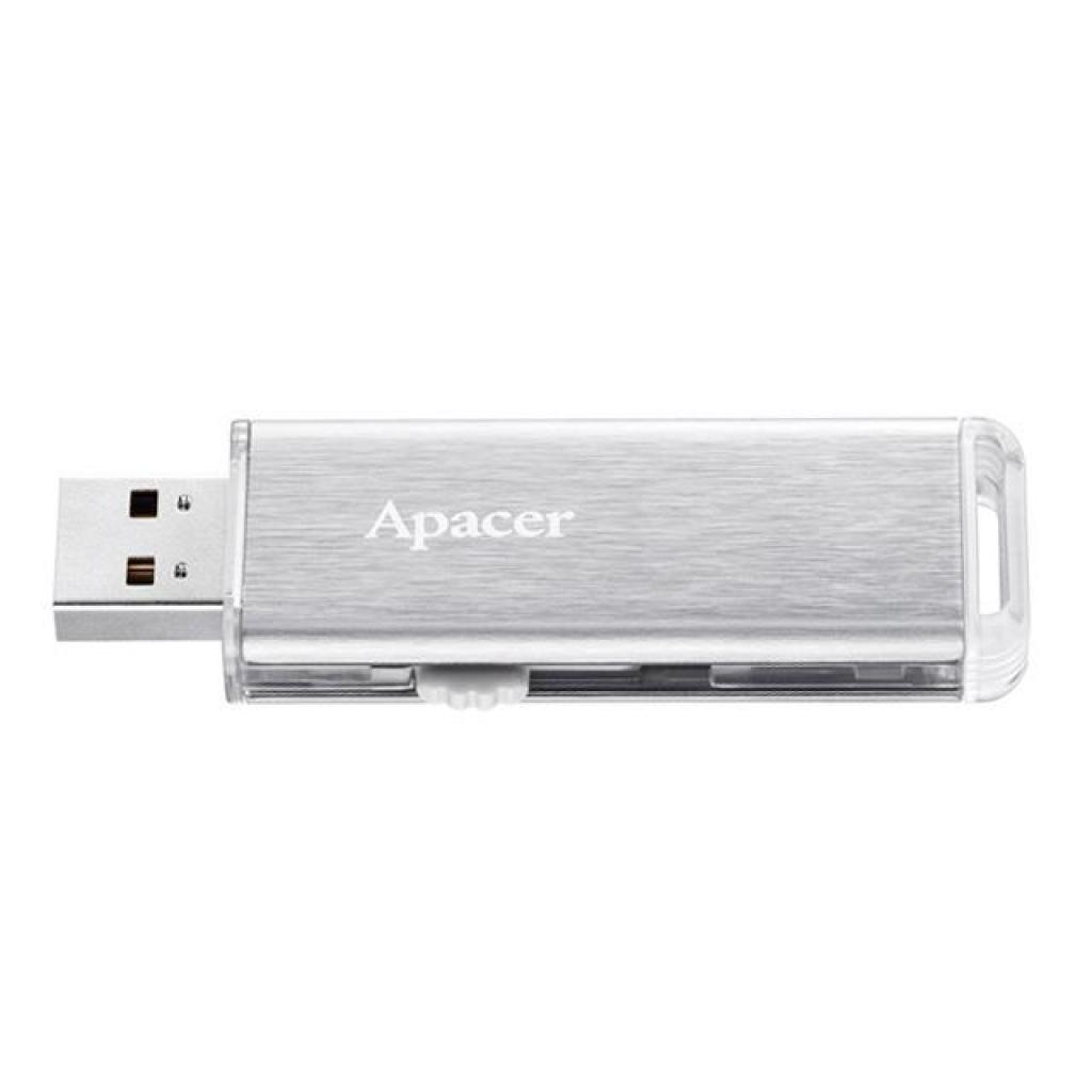 USB флеш накопитель Apacer 64GB AH33A Silver USB 2.0 (AP64GAH33AS-1) изображение 3