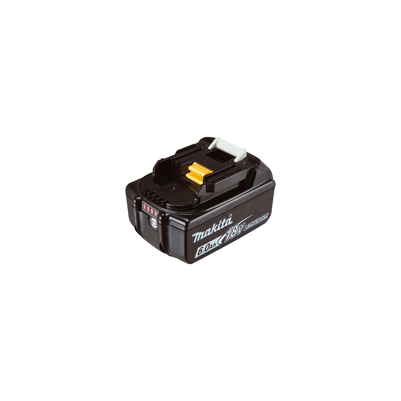 Аккумулятор к электроинструменту Makita LXT BL1860B (Li-Ion, 18В, 6Ач, индикация заряда) (632F69-8)