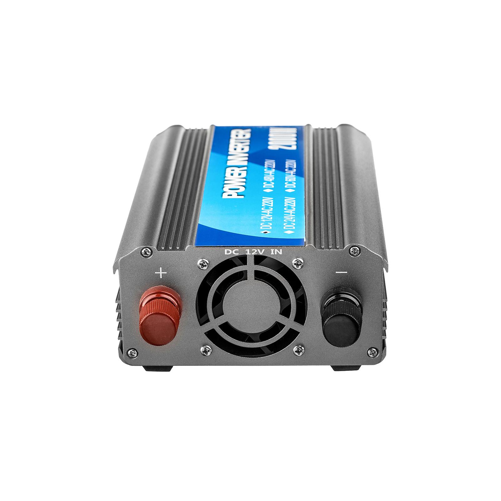 Автомобильный инвертор 12V/220V 1000W Porto (MND-1000) изображение 2