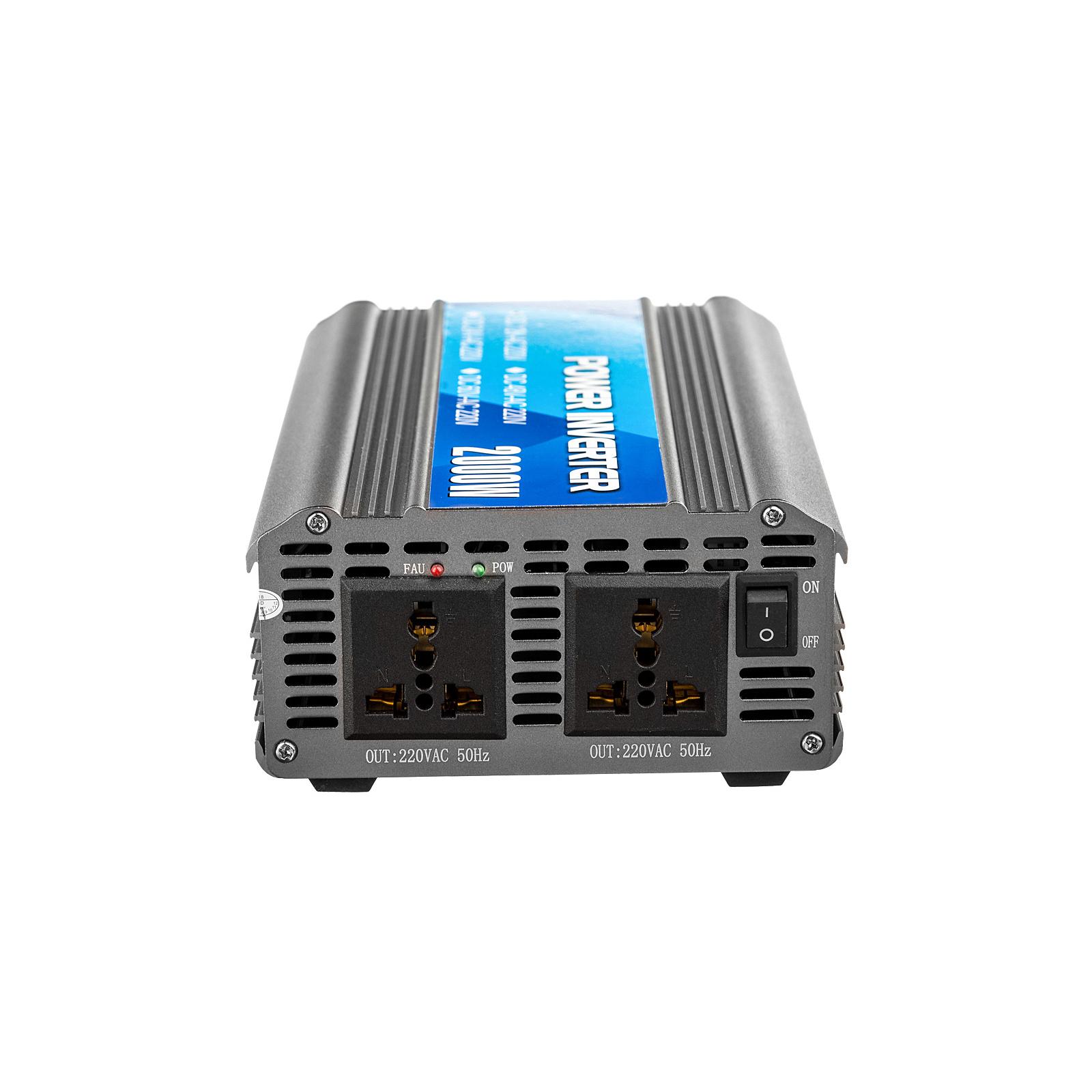 Автомобильный инвертор 12V/220V 1000W Porto (MND-1000) изображение 3
