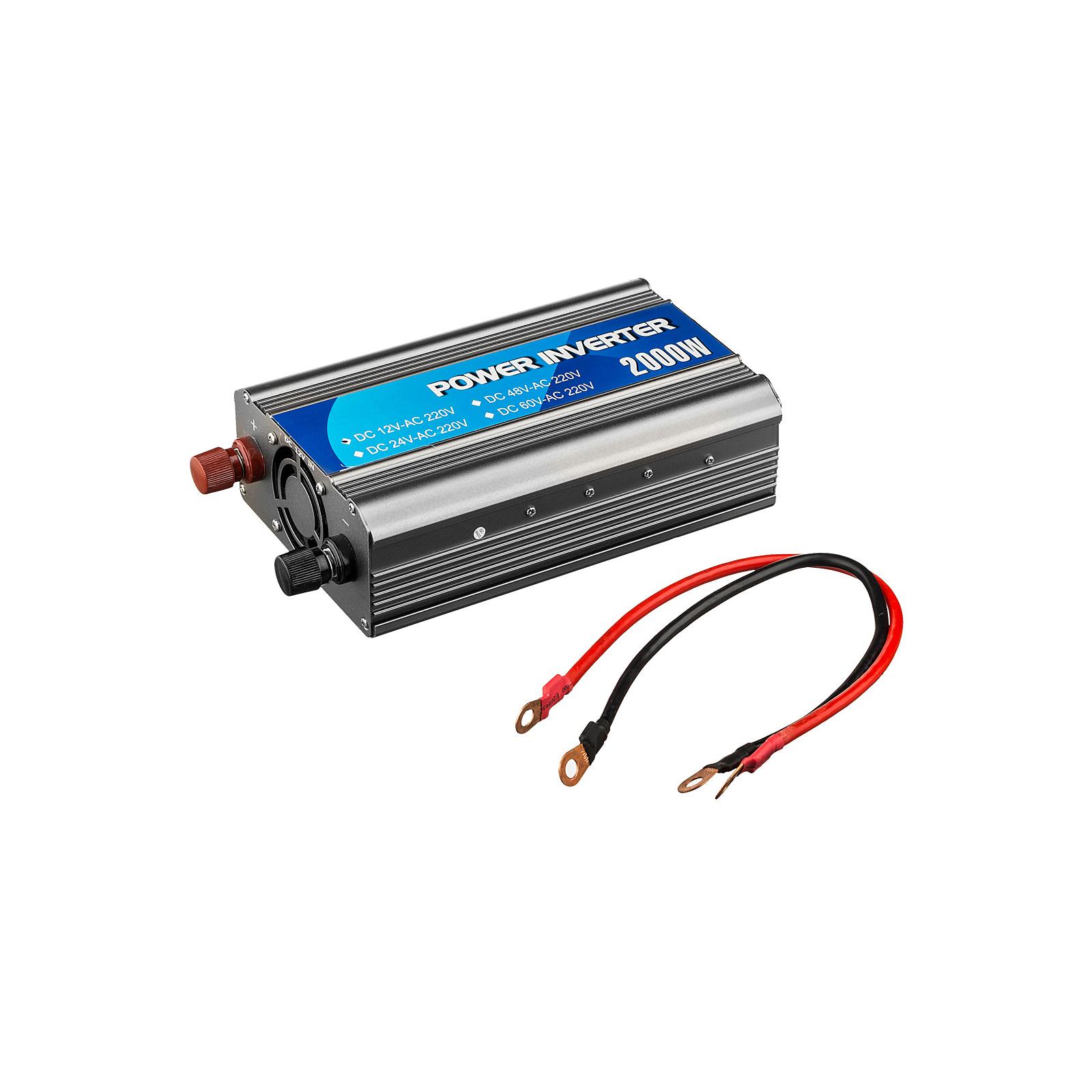 Автомобильный инвертор 12V/220V 1000W Porto (MND-1000) изображение 5