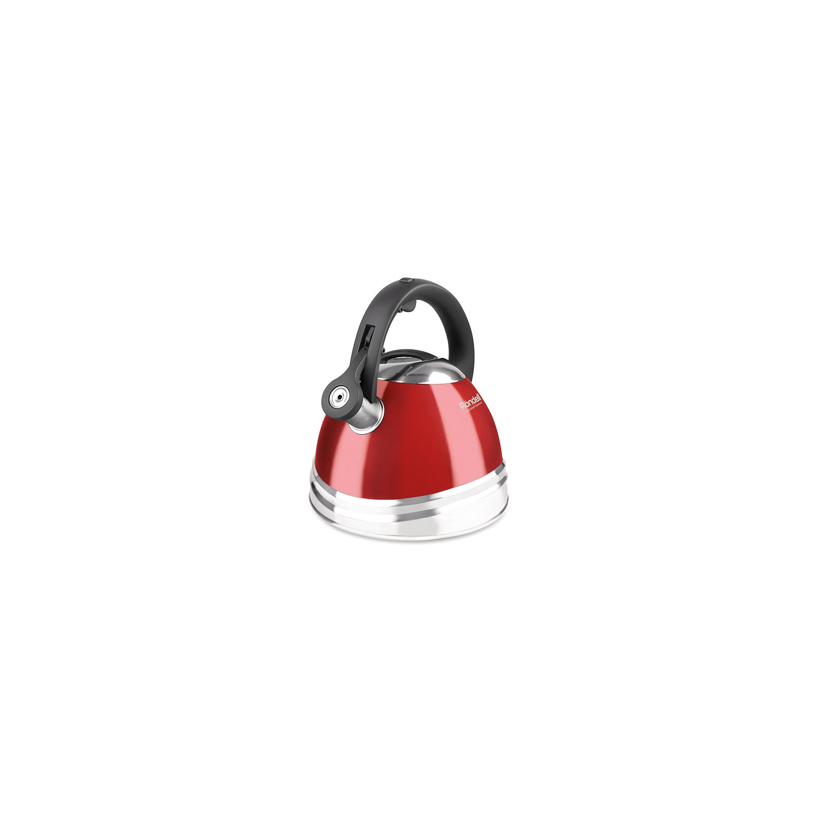 Чайник Rondell Fiero со свистком 3 л Red (RDS-498) изображение 2