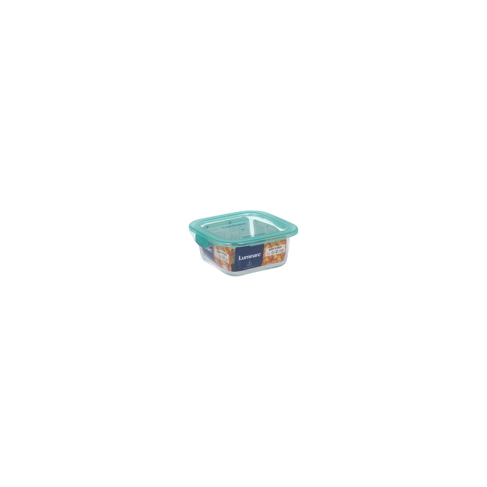 Пищевой контейнер Luminarc Keep'n Box Lagoon квадр. 380 мл (P5522) изображение 3