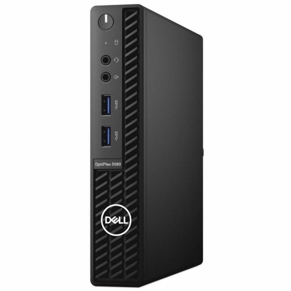 Комп'ютер Dell OptiPlex 3080 MFF / i3-10100T (N011O3080MFFEM-08)