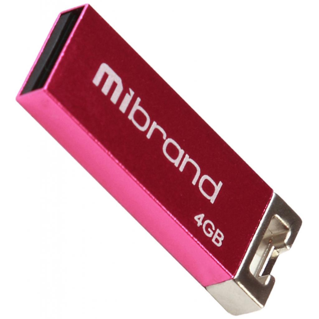 USB флеш накопитель Mibrand 4GB Сhameleon Black USB 2.0 (MI2.0/CH4U6B)