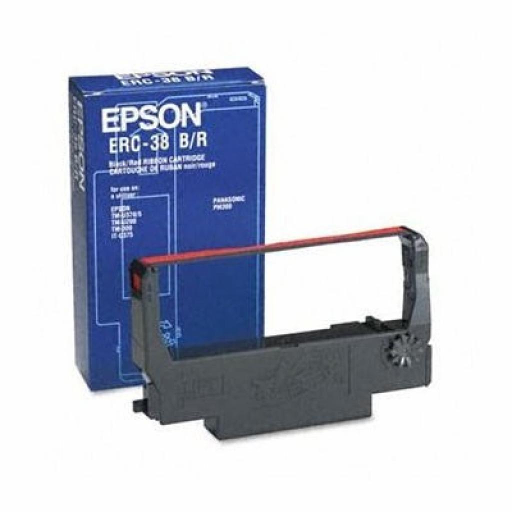 Картридж Epson ERC-38 Black Ribbon Cassette (C43S015374 / C43S015244)