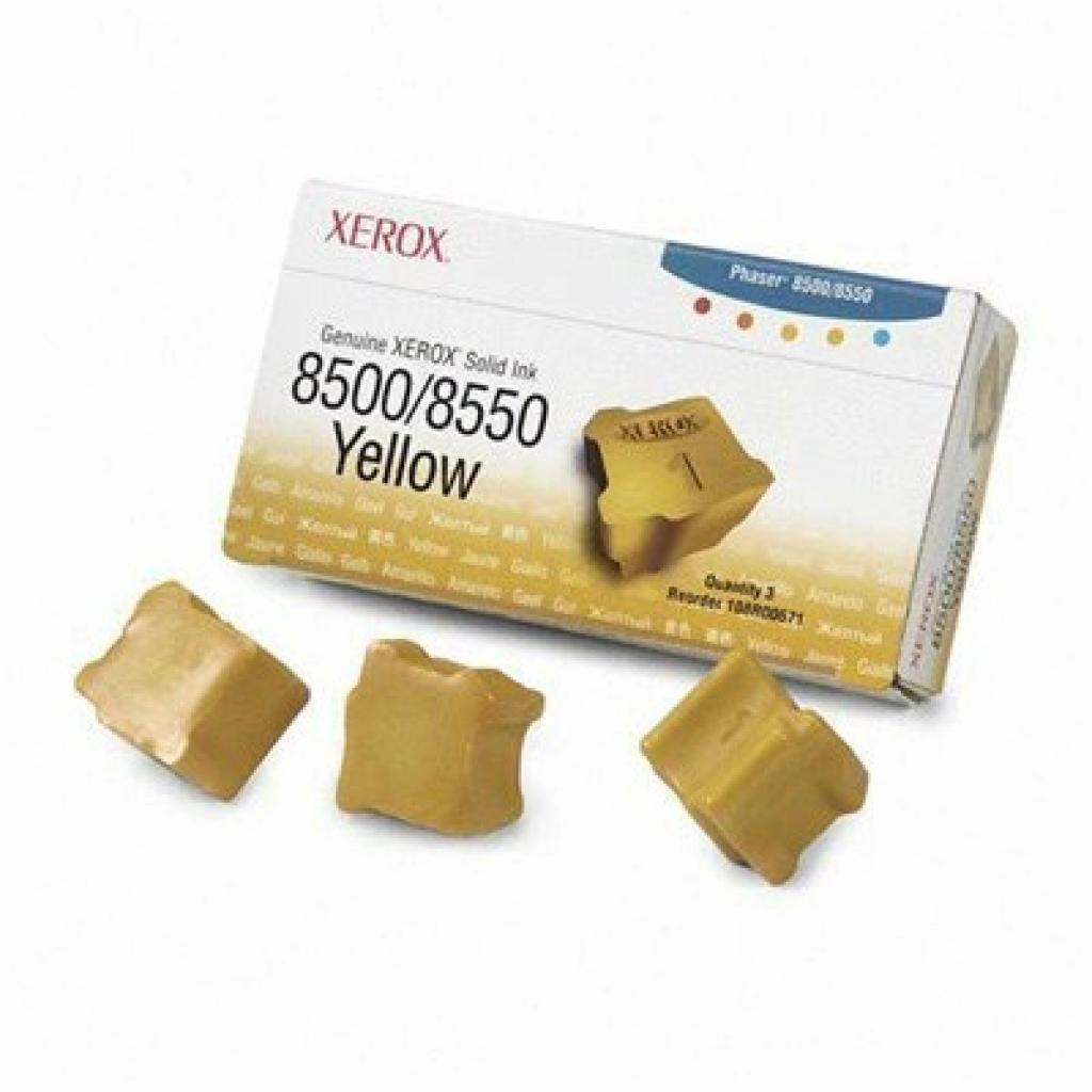 Картридж XEROX PH8500/8550 Yellow (108R00671)