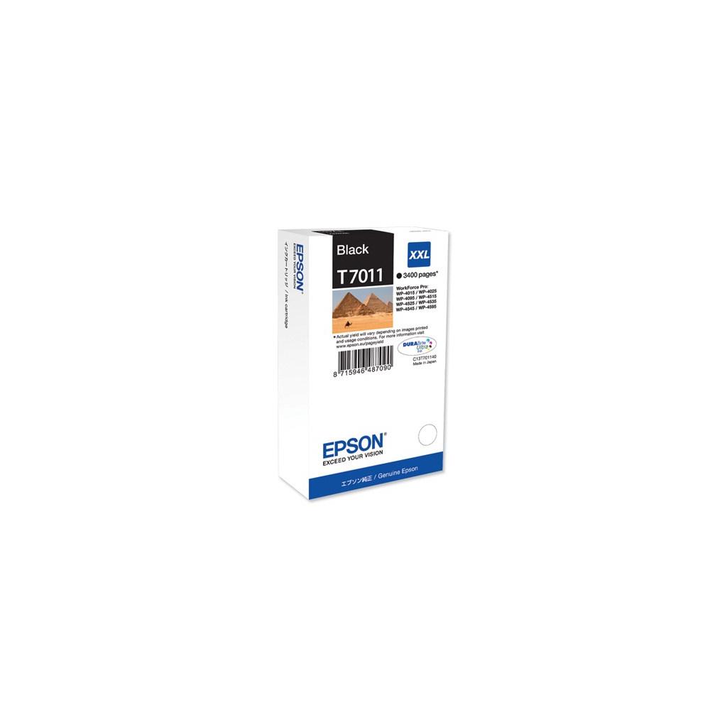 Картридж EPSON WP 4000/ 4500 XXL black 3.4k (C13T70114010)