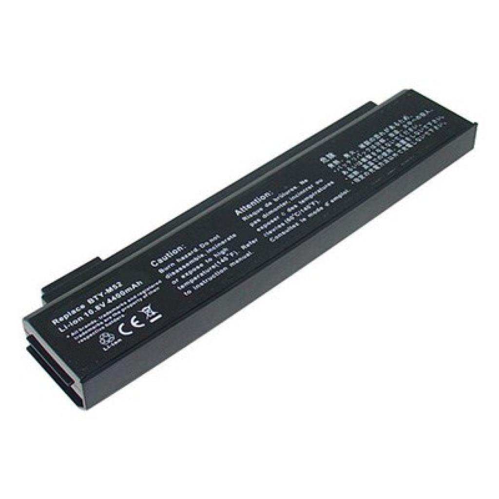 Аккумулятор для ноутбука MSI BTY-M52 Megabook L735 BatteryExpert (BTY-M52 L 44)