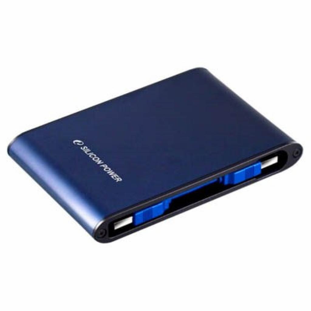 "Внешний жесткий диск 2.5"" 750GB Silicon Power (SP750GBPHDA80S3B)"