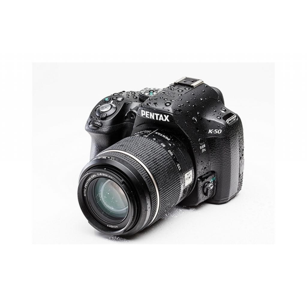 Цифровой фотоаппарат Pentax K-50 + DA L 18-55 WR white (10938)